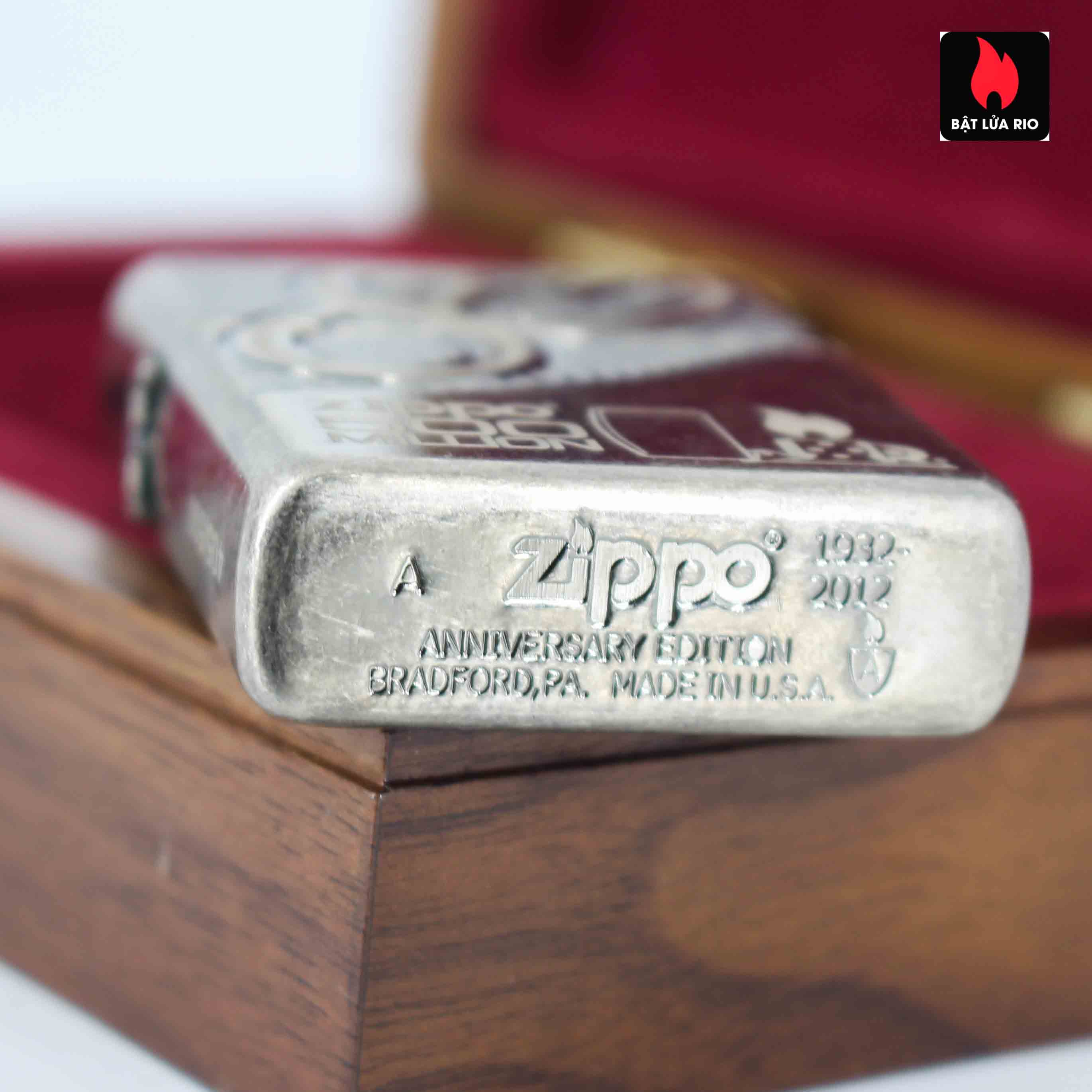 Zippo 2012 - 80th Anniversary and 500 Million - Limited 405/500 5