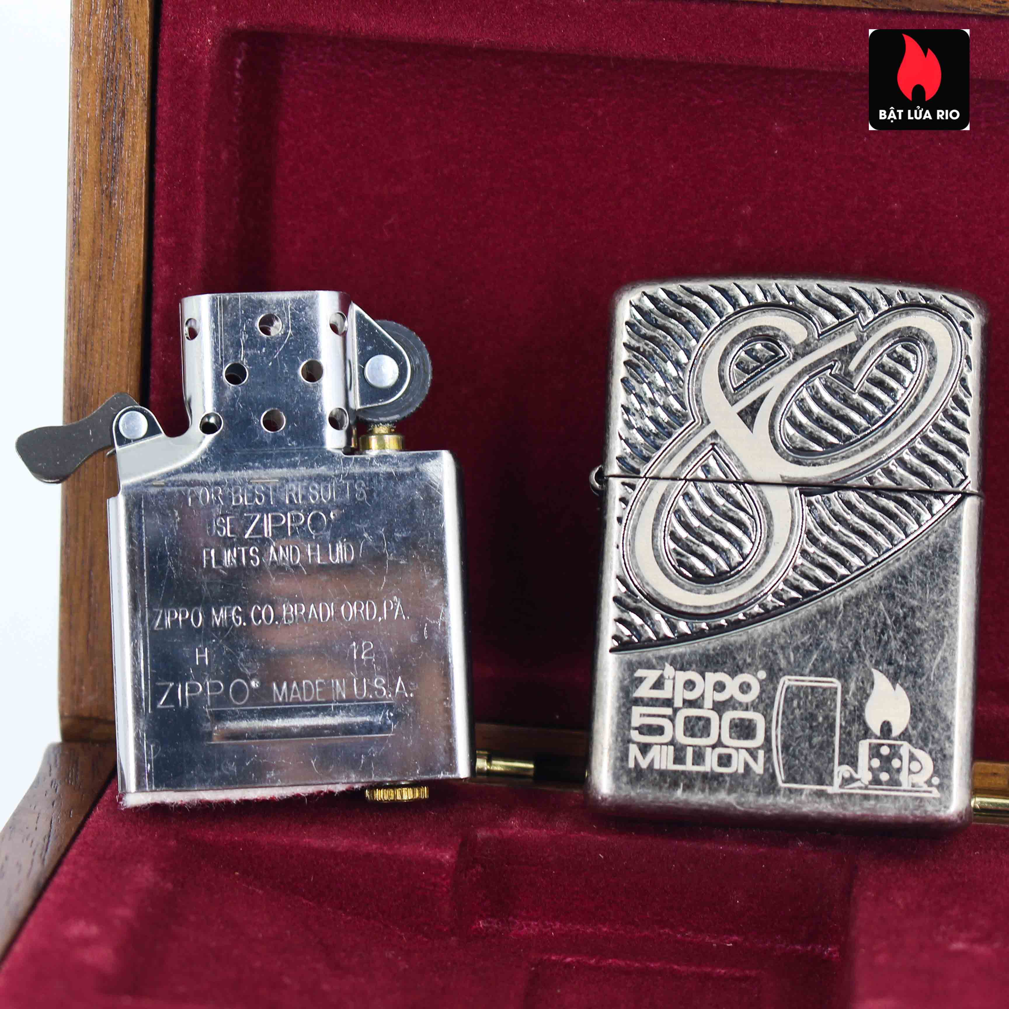 Zippo 2012 - 80th Anniversary and 500 Million - Limited 405/500 6