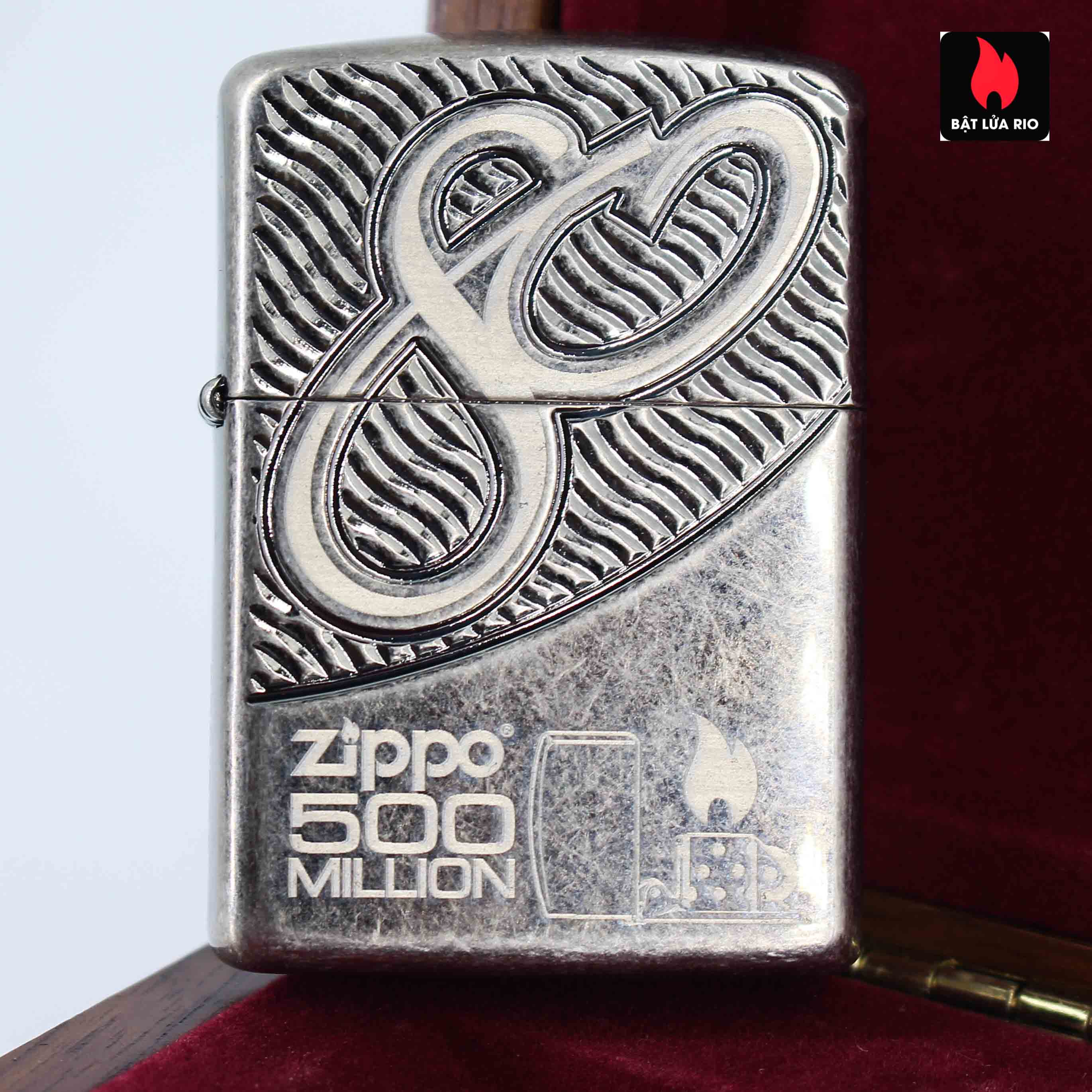 Zippo 2012 - 80th Anniversary and 500 Million - Limited 405/500