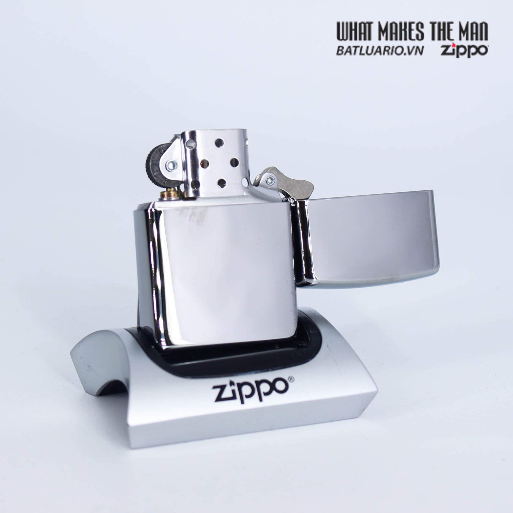 Zippo 29727 - Zippo Fusion Leaf High Polish Chrome 4
