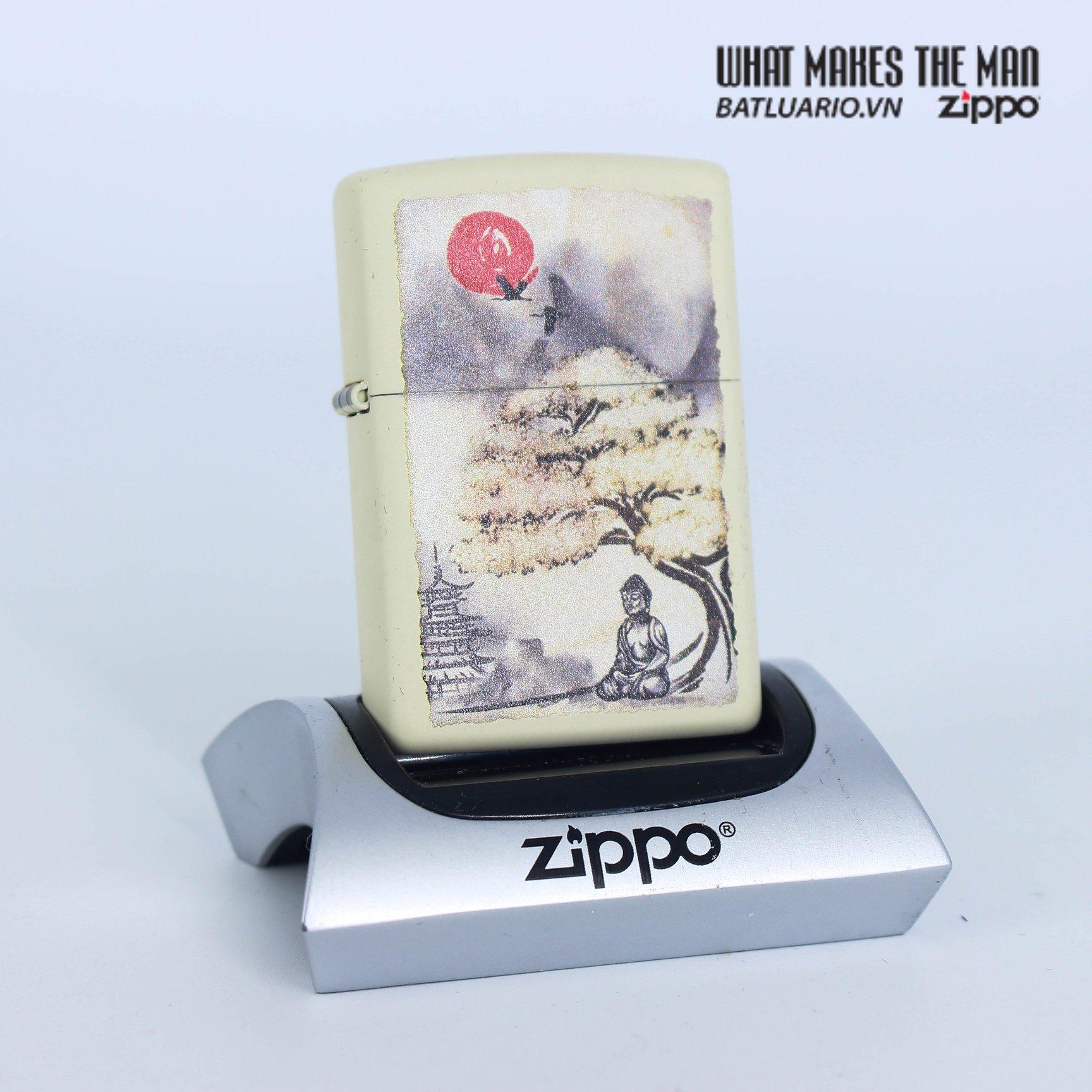 Zippo 29846 - Zippo Pagoda Bonsai Buddha Design 1