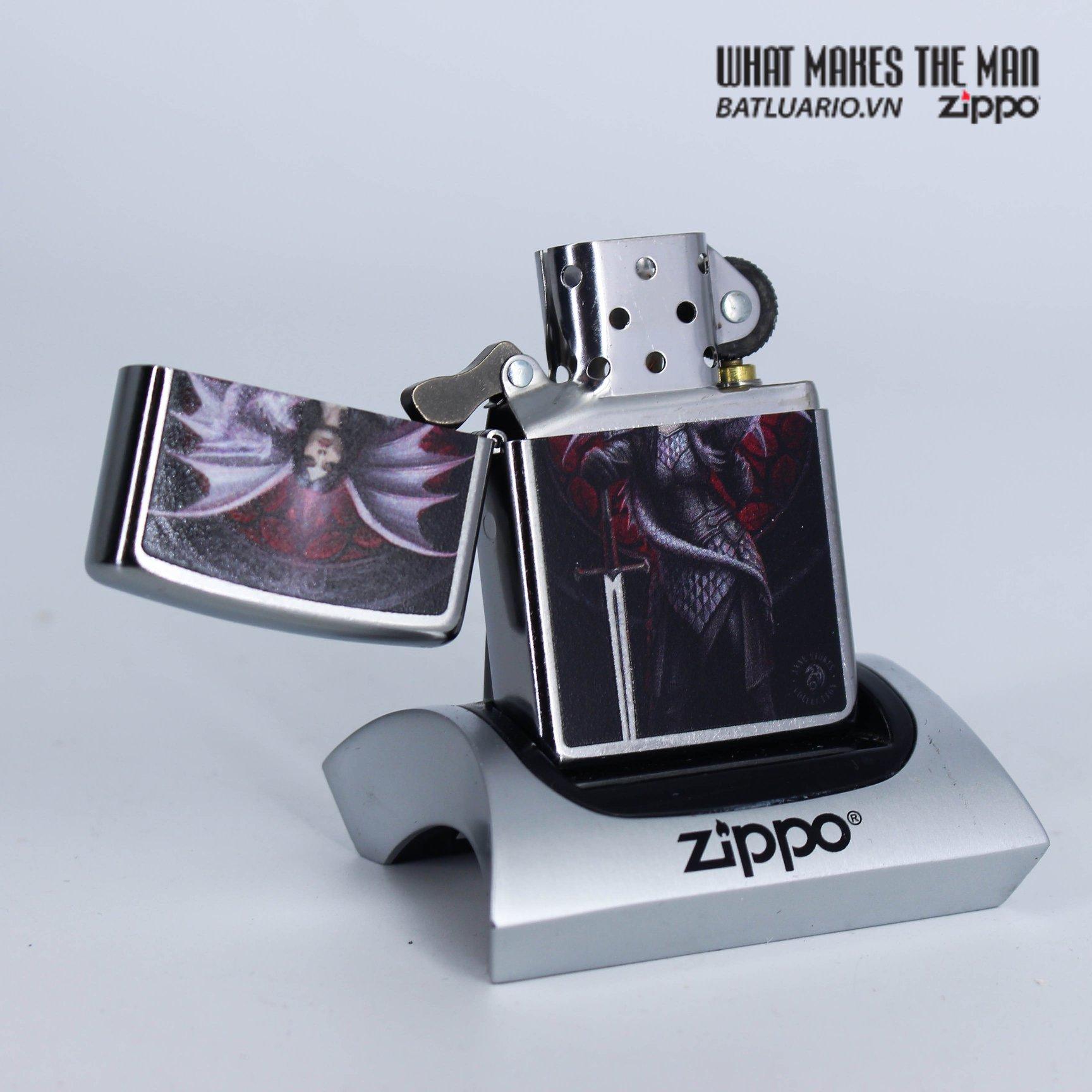 Zippo 49096 - Zippo Anne Stokes Dragon Warrior 2