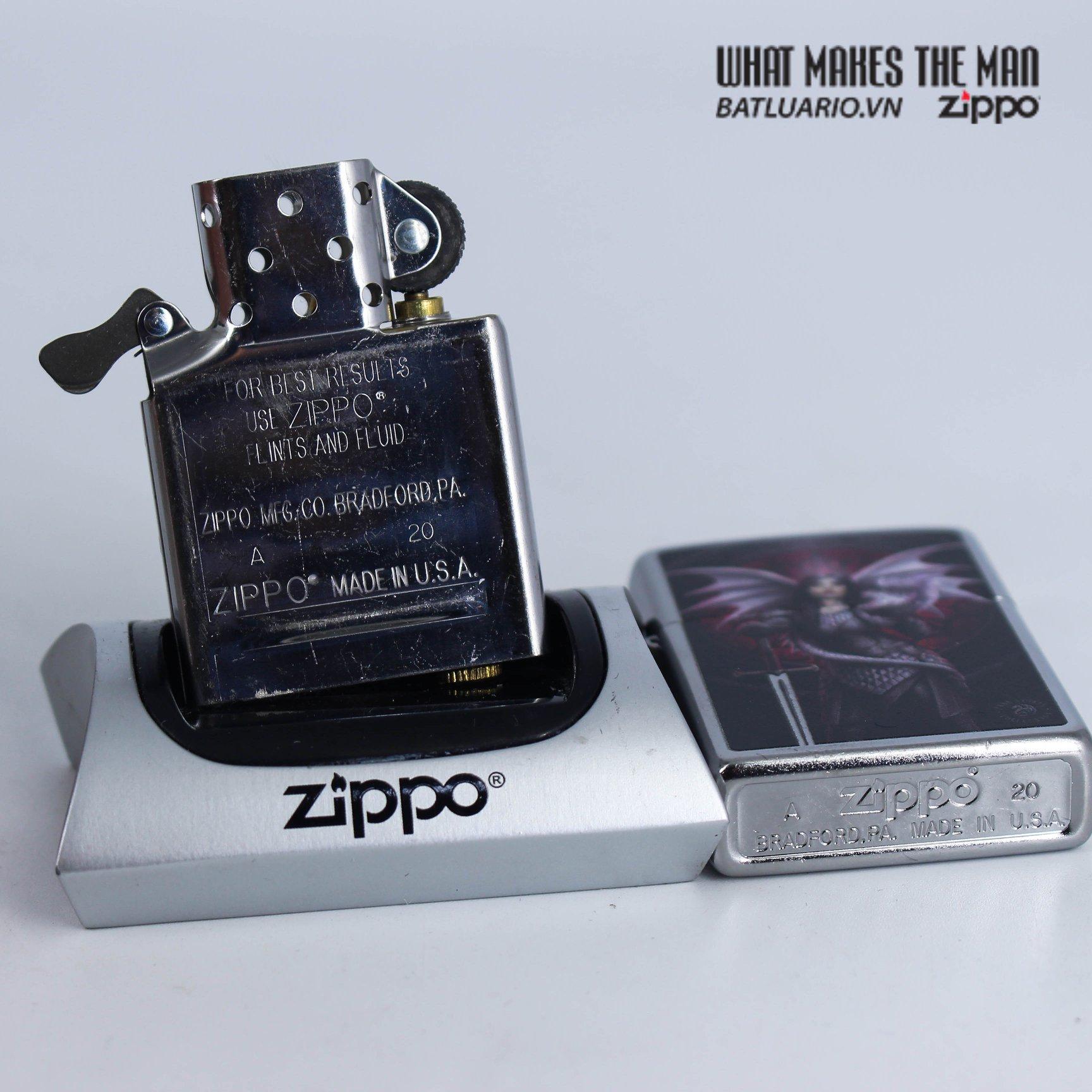 Zippo 49096 - Zippo Anne Stokes Dragon Warrior 7