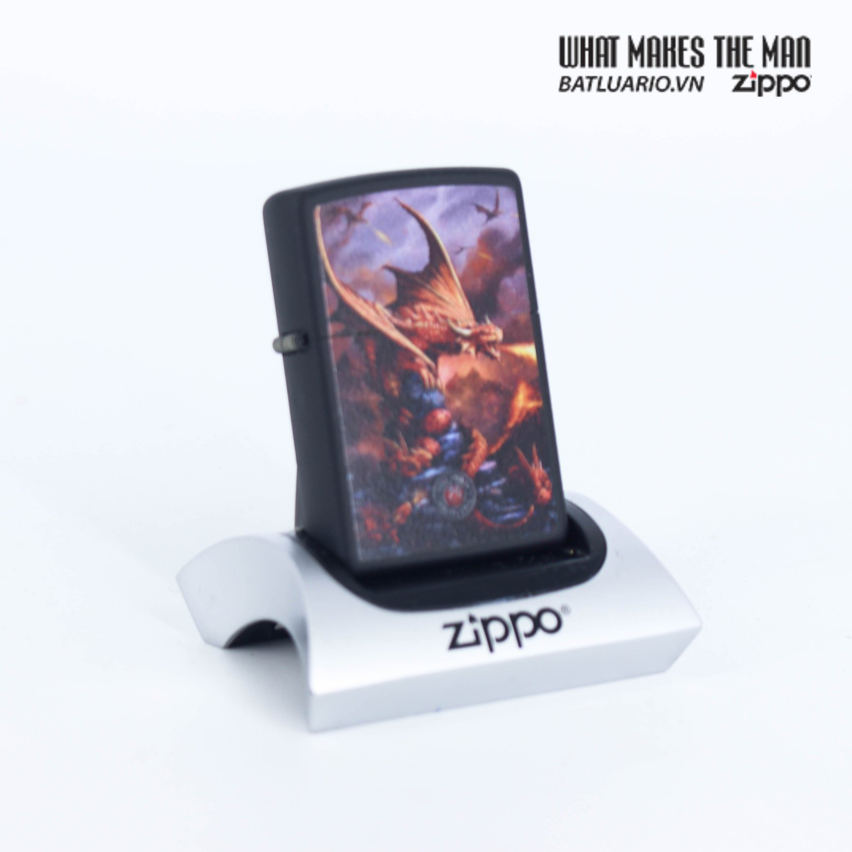 Zippo 49097 - Zippo Anne Stokes Fire Breathing Dragon 1