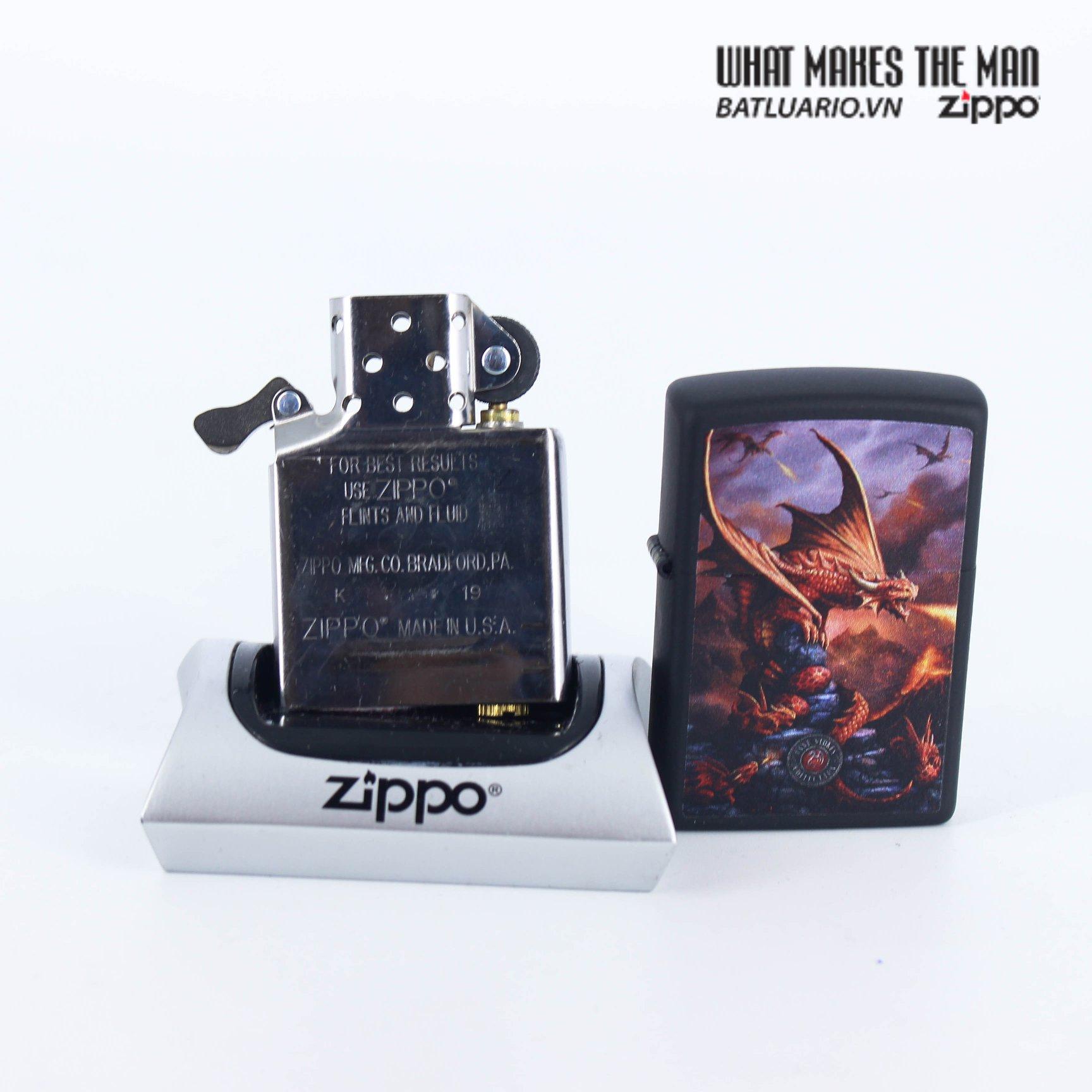 Zippo 49097 - Zippo Anne Stokes Fire Breathing Dragon 8