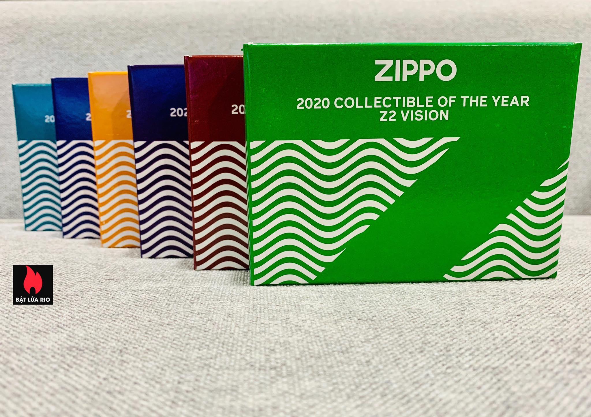 Zippo 49194 - Zippo 2020 Collectible Of The Year - Zippo Coty 2020 - Zippo Z2 Vision 19