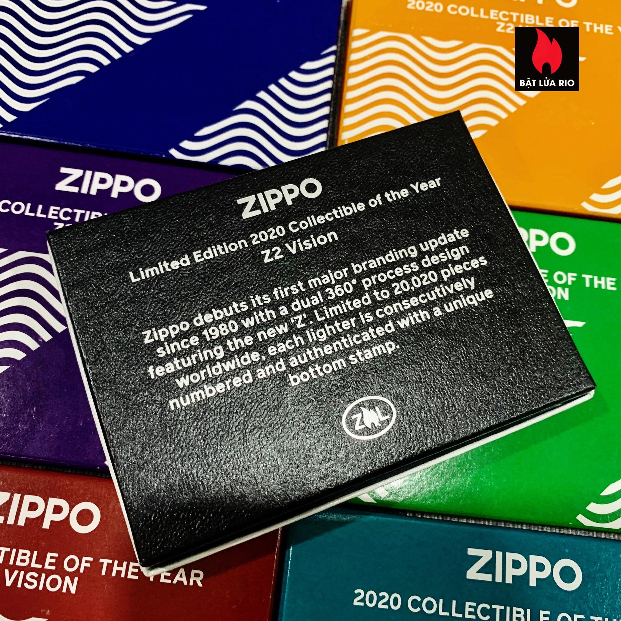 Zippo 49194 - Zippo 2020 Collectible Of The Year - Zippo Coty 2020 - Zippo Z2 Vision 22