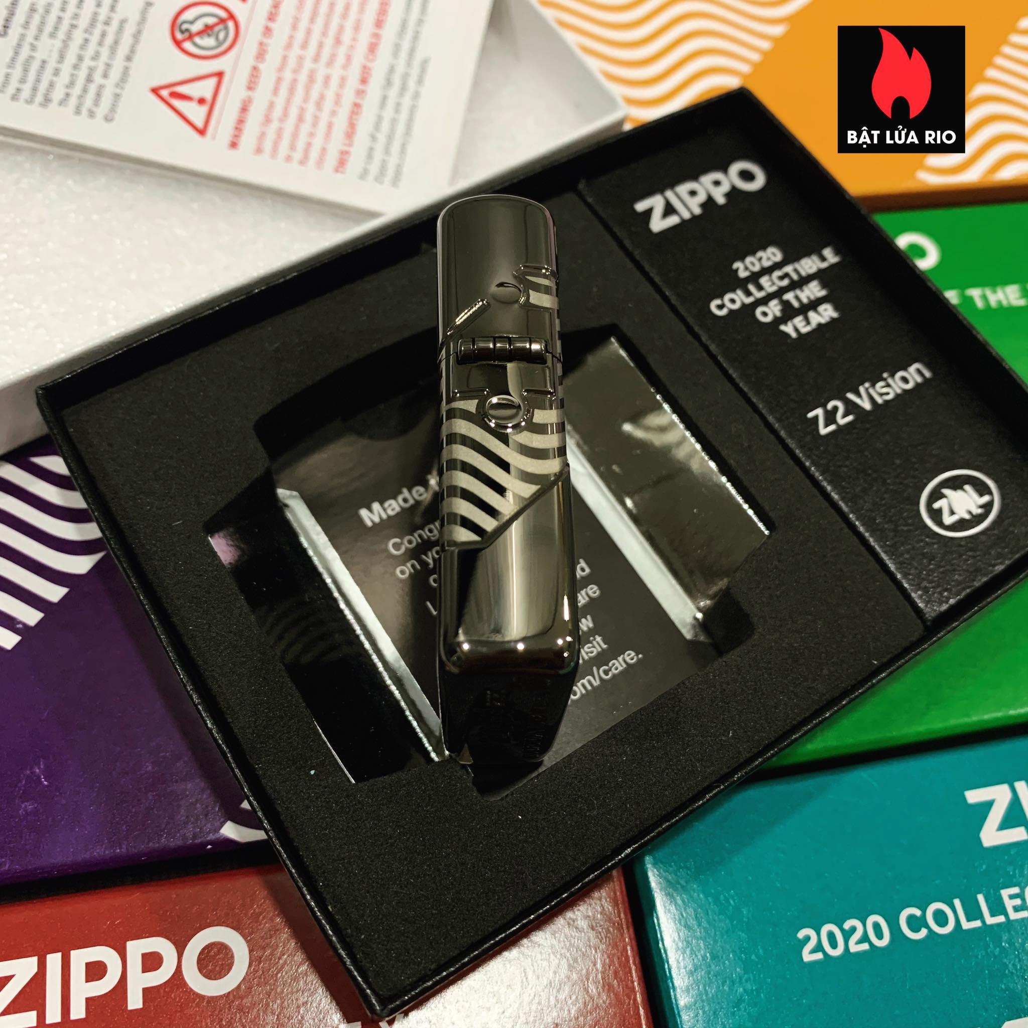 Zippo 49194 - Zippo 2020 Collectible Of The Year - Zippo Coty 2020 - Zippo Z2 Vision 25