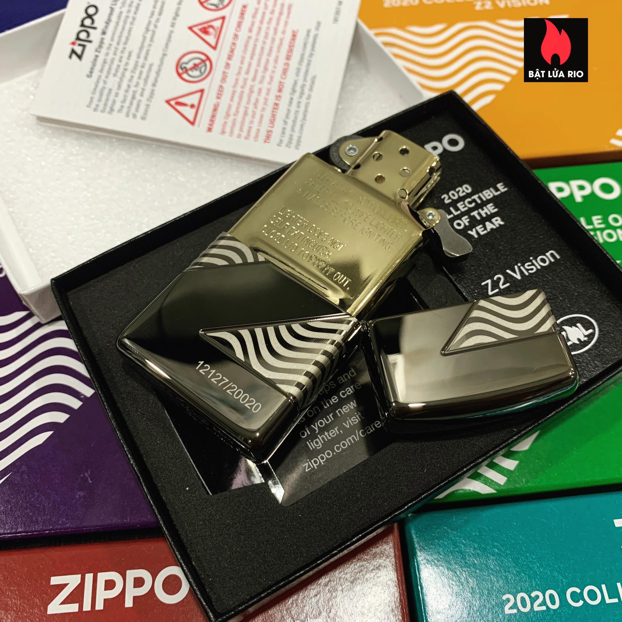 Zippo 49194 - Zippo 2020 Collectible Of The Year - Zippo Coty 2020 - Zippo Z2 Vision 28