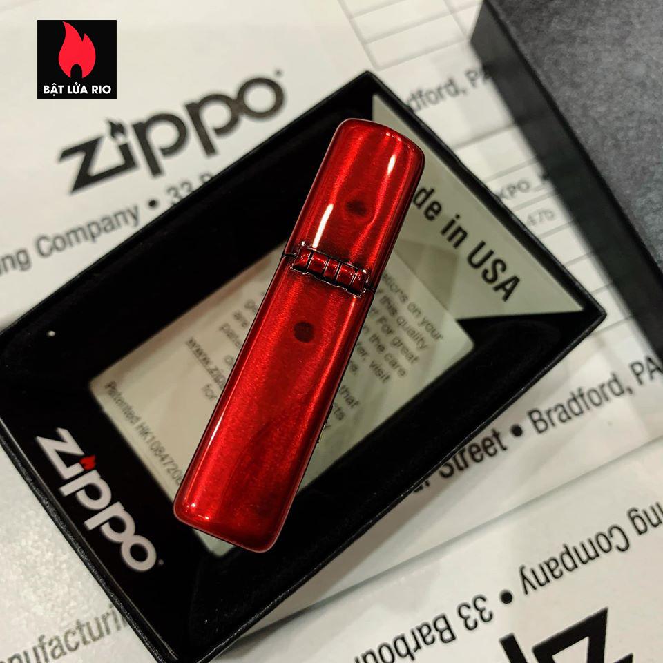 Zippo 88Th Anniversary Asia Red Color Clear Coating - Zippo Bản Đỏ Bóng Kỷ Niệm 88 Năm Ra Đời Bật Lửa Zippo - Zippo ZA-2-147B 4