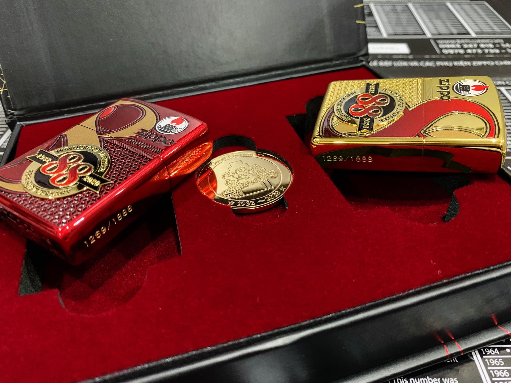 Zippo Edition Box Set 88Th Anniversary Asia Limited - Zippo Phiên Bản Giới Hạn Kỷ Niệm 88 Năm Ra Đời Bật Lửa Zippo - Zippo ZA-2-147C 17