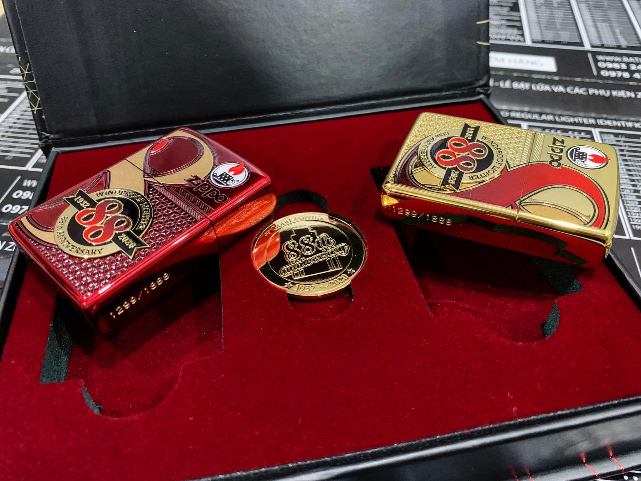 Zippo Edition Box Set 88Th Anniversary Asia Limited - Zippo Phiên Bản Giới Hạn Kỷ Niệm 88 Năm Ra Đời Bật Lửa Zippo - Zippo ZA-2-147C 18