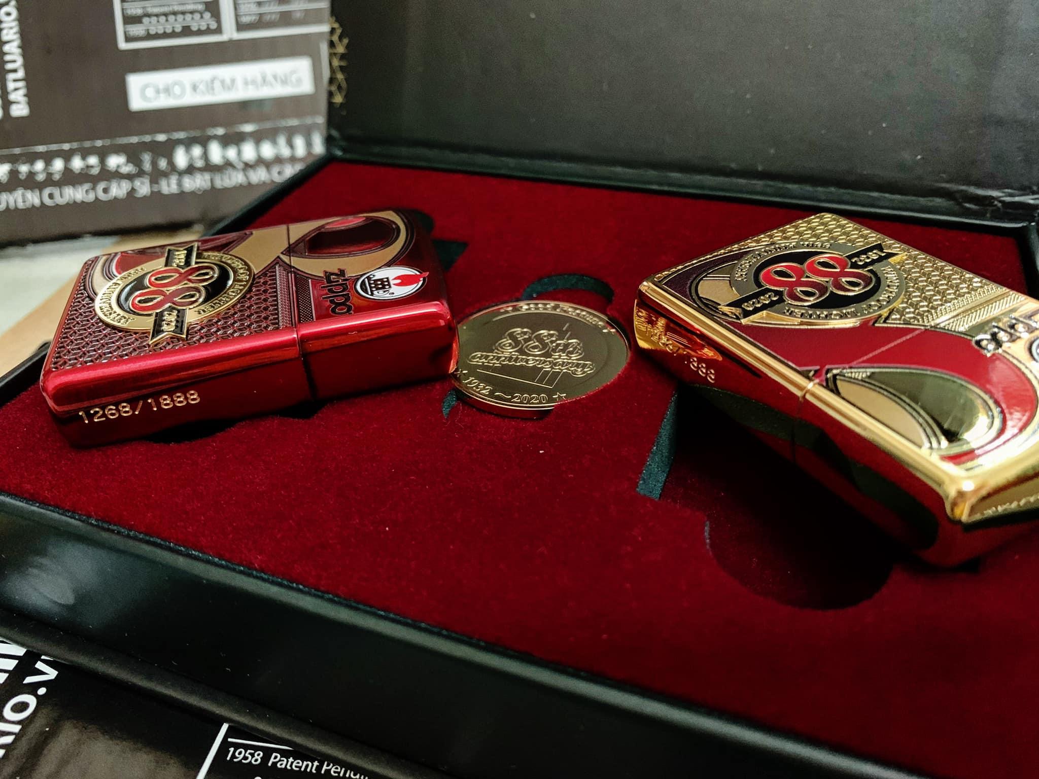 Zippo Edition Box Set 88Th Anniversary Asia Limited - Zippo Phiên Bản Giới Hạn Kỷ Niệm 88 Năm Ra Đời Bật Lửa Zippo - Zippo ZA-2-147C 21
