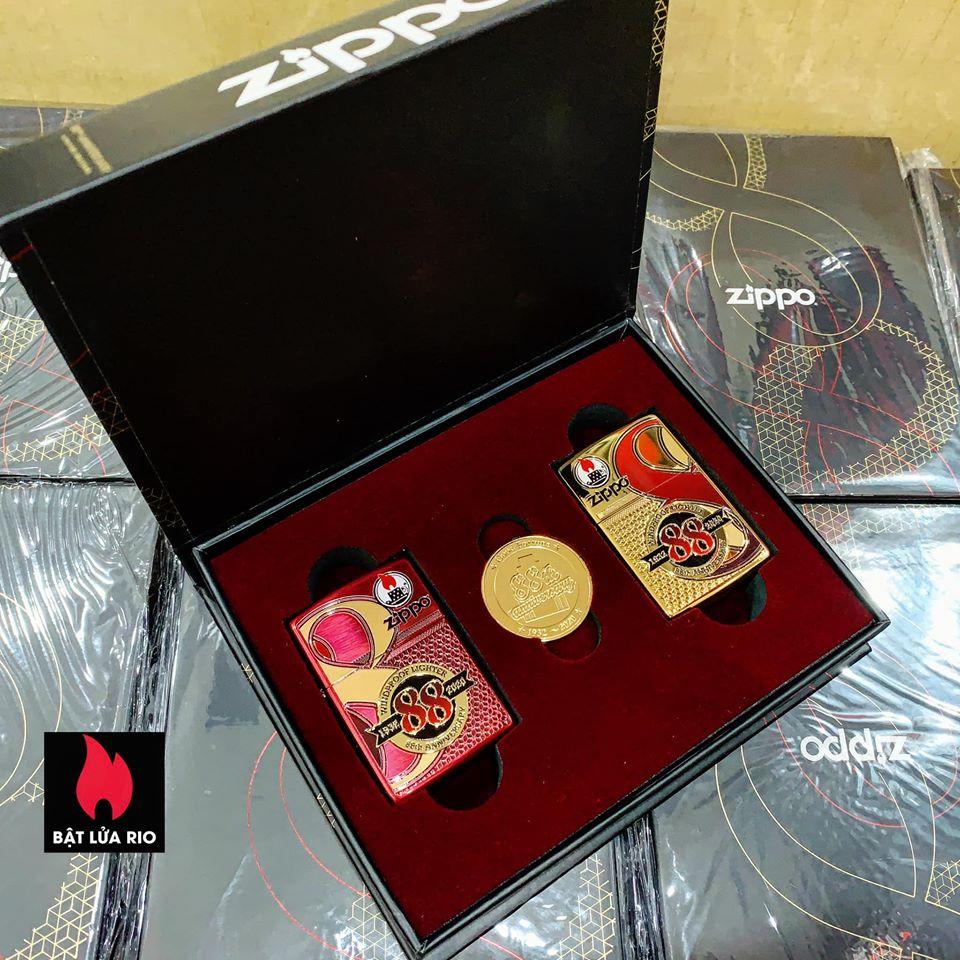 Zippo Edition Box Set 88Th Anniversary Asia Limited - Zippo Phiên Bản Giới Hạn Kỷ Niệm 88 Năm Ra Đời Bật Lửa Zippo - Zippo ZA-2-147C 25
