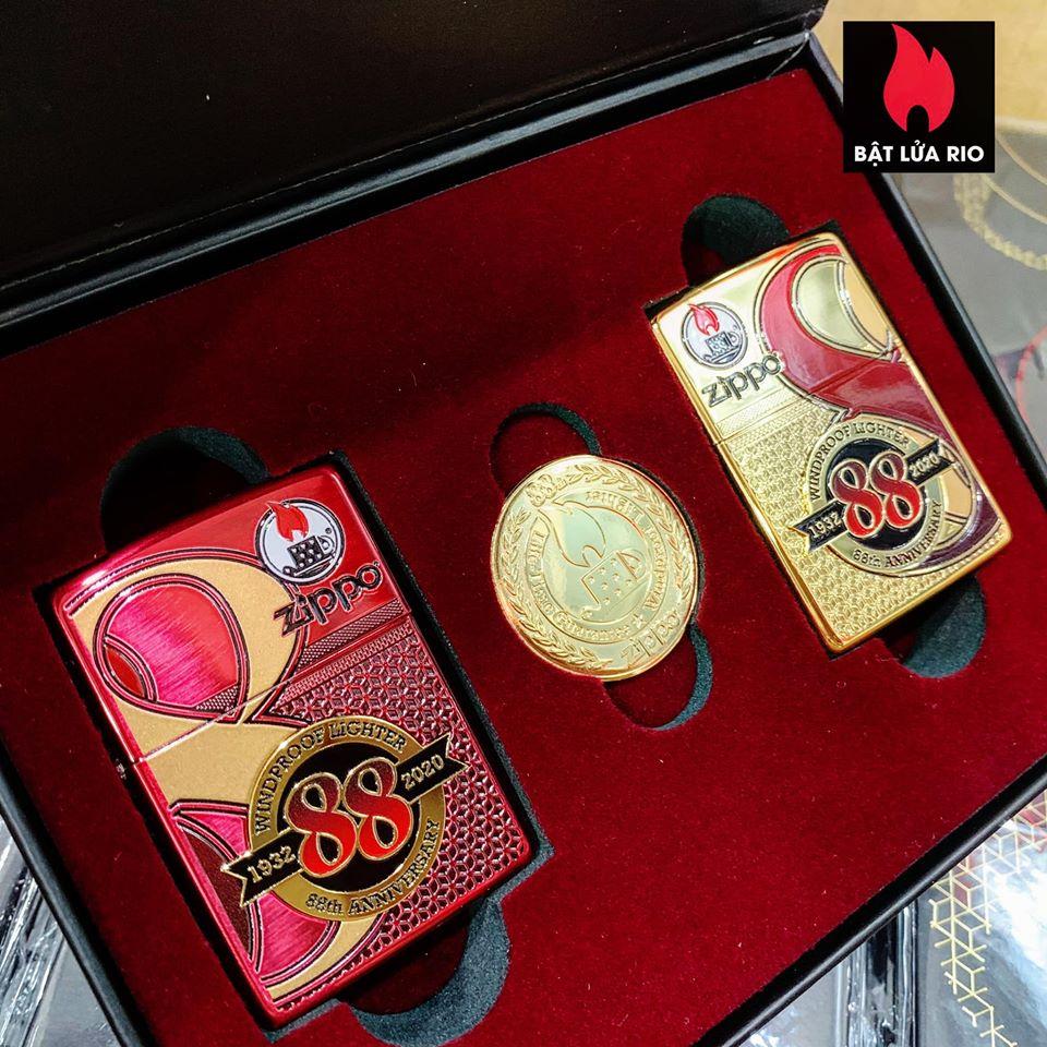 Zippo Edition Box Set 88Th Anniversary Asia Limited - Zippo Phiên Bản Giới Hạn Kỷ Niệm 88 Năm Ra Đời Bật Lửa Zippo - Zippo ZA-2-147C 273