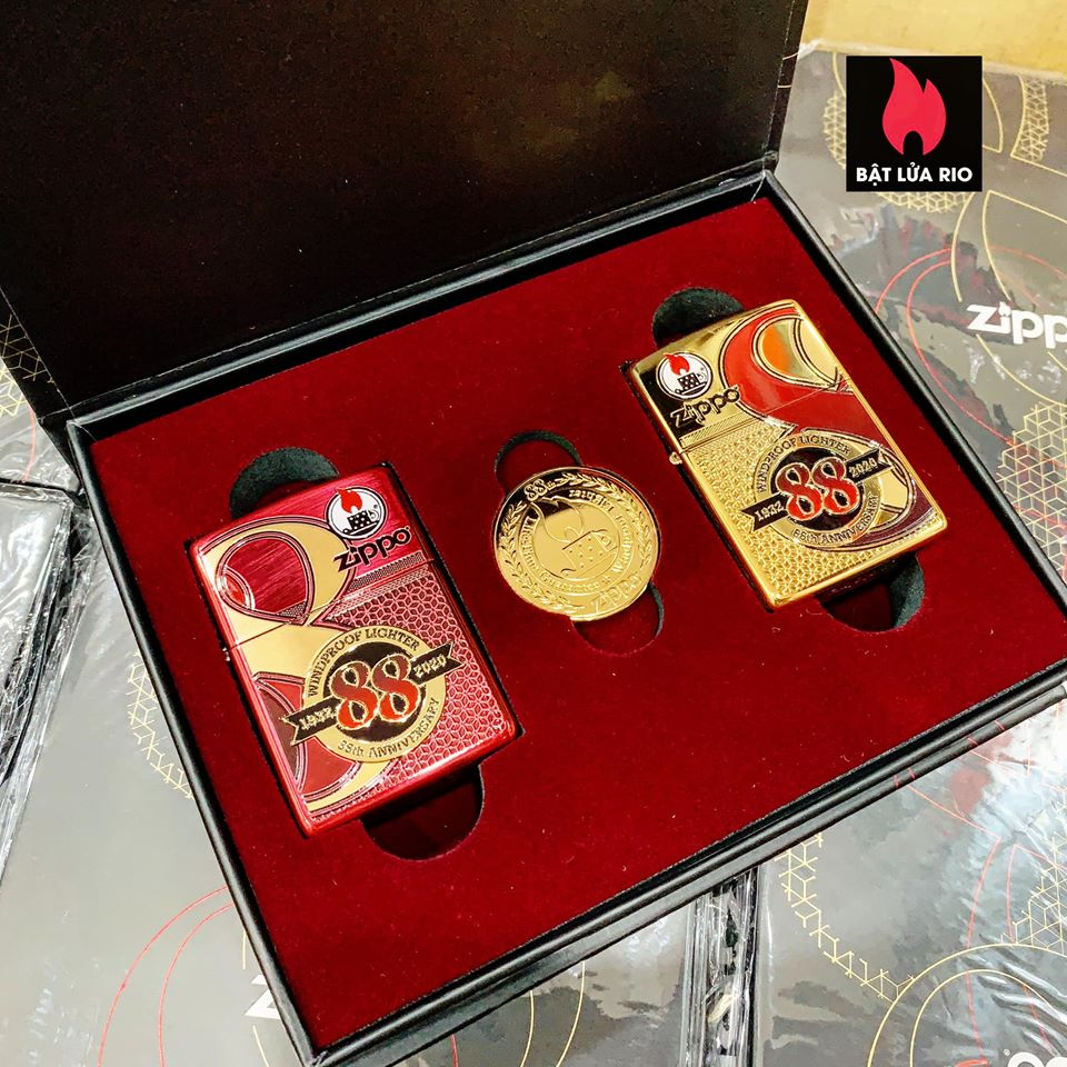 Zippo Edition Box Set 88Th Anniversary Asia Limited - Zippo Phiên Bản Giới Hạn Kỷ Niệm 88 Năm Ra Đời Bật Lửa Zippo - Zippo ZA-2-147C 28