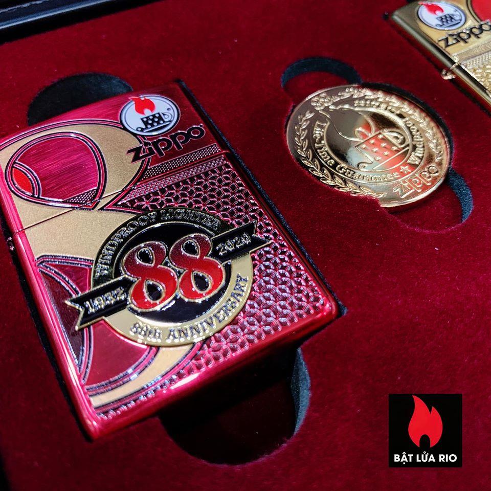Zippo Edition Box Set 88Th Anniversary Asia Limited - Zippo Phiên Bản Giới Hạn Kỷ Niệm 88 Năm Ra Đời Bật Lửa Zippo - Zippo ZA-2-147C 34