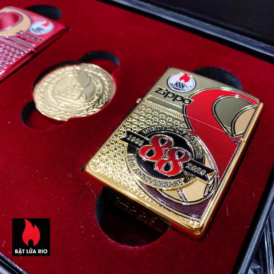 Zippo Edition Box Set 88Th Anniversary Asia Limited - Zippo Phiên Bản Giới Hạn Kỷ Niệm 88 Năm Ra Đời Bật Lửa Zippo - Zippo ZA-2-147C 35