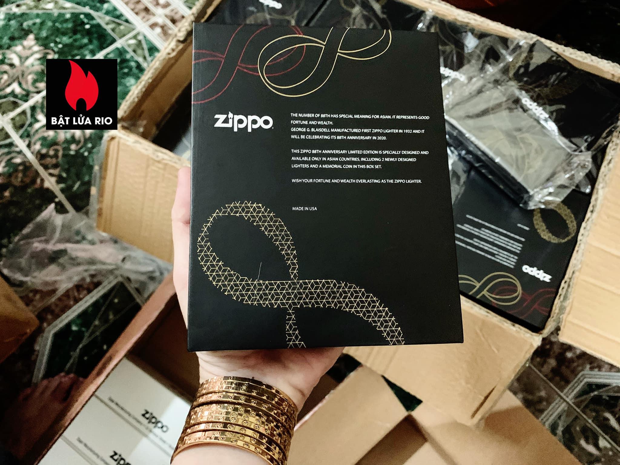 Zippo Edition Box Set 88Th Anniversary Asia Limited - Zippo Phiên Bản Giới Hạn Kỷ Niệm 88 Năm Ra Đời Bật Lửa Zippo - Zippo ZA-2-147C 42