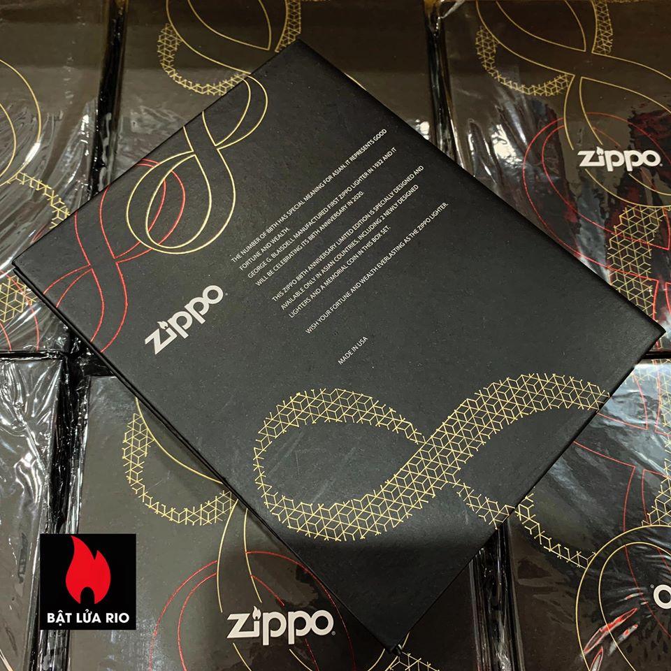 Zippo Edition Box Set 88Th Anniversary Asia Limited - Zippo Phiên Bản Giới Hạn Kỷ Niệm 88 Năm Ra Đời Bật Lửa Zippo - Zippo ZA-2-147C 46