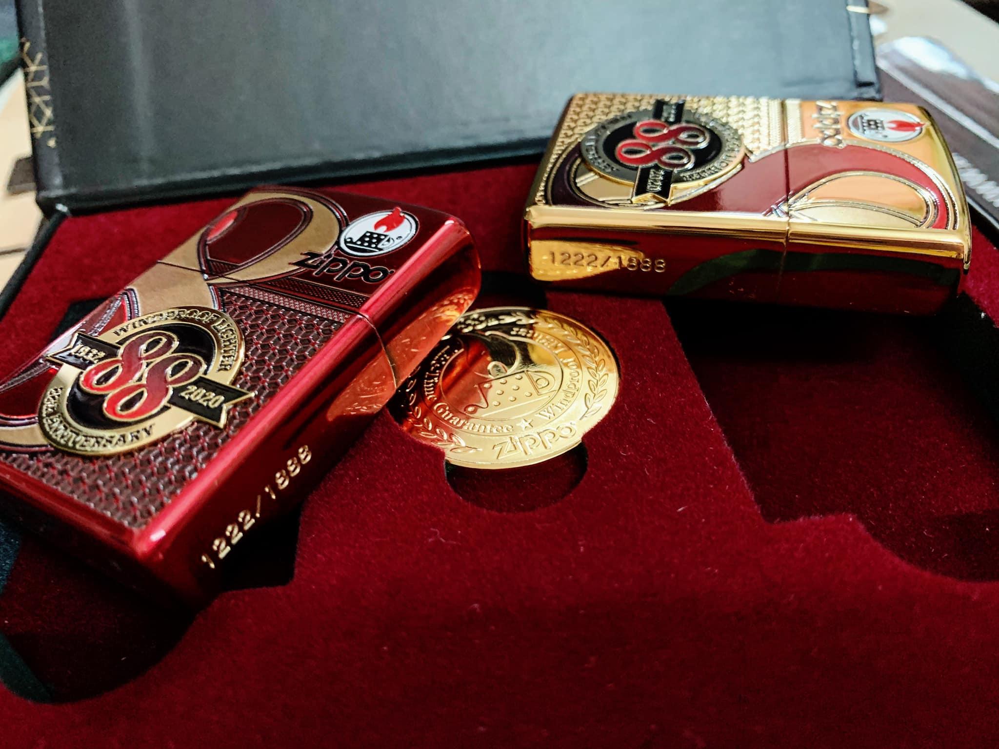 Zippo Edition Box Set 88Th Anniversary Asia Limited - Zippo Phiên Bản Giới Hạn Kỷ Niệm 88 Năm Ra Đời Bật Lửa Zippo - Zippo ZA-2-147C 48