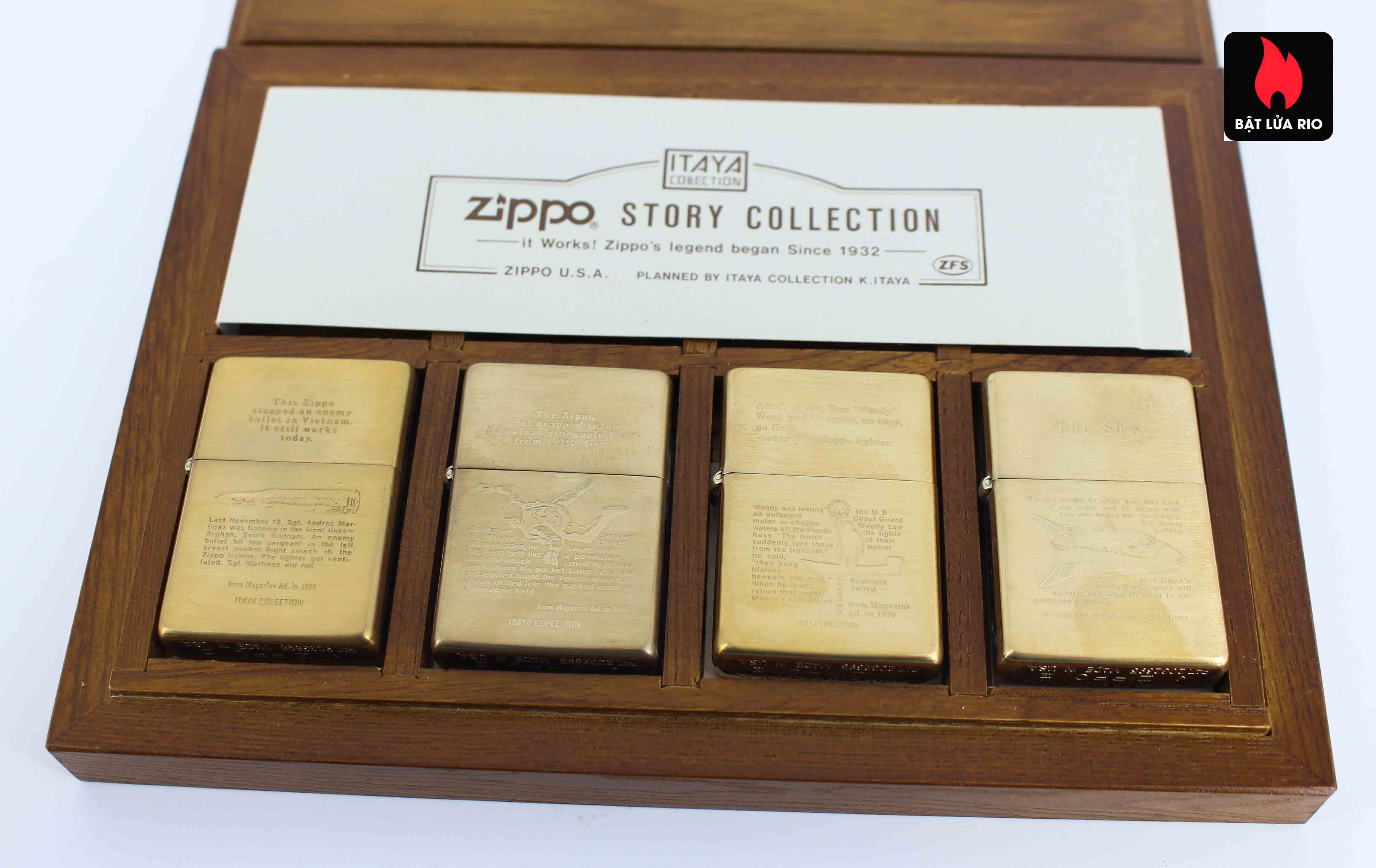 Zippo Serries 1993 - Itaya Colection - Zippo Story Collection 12