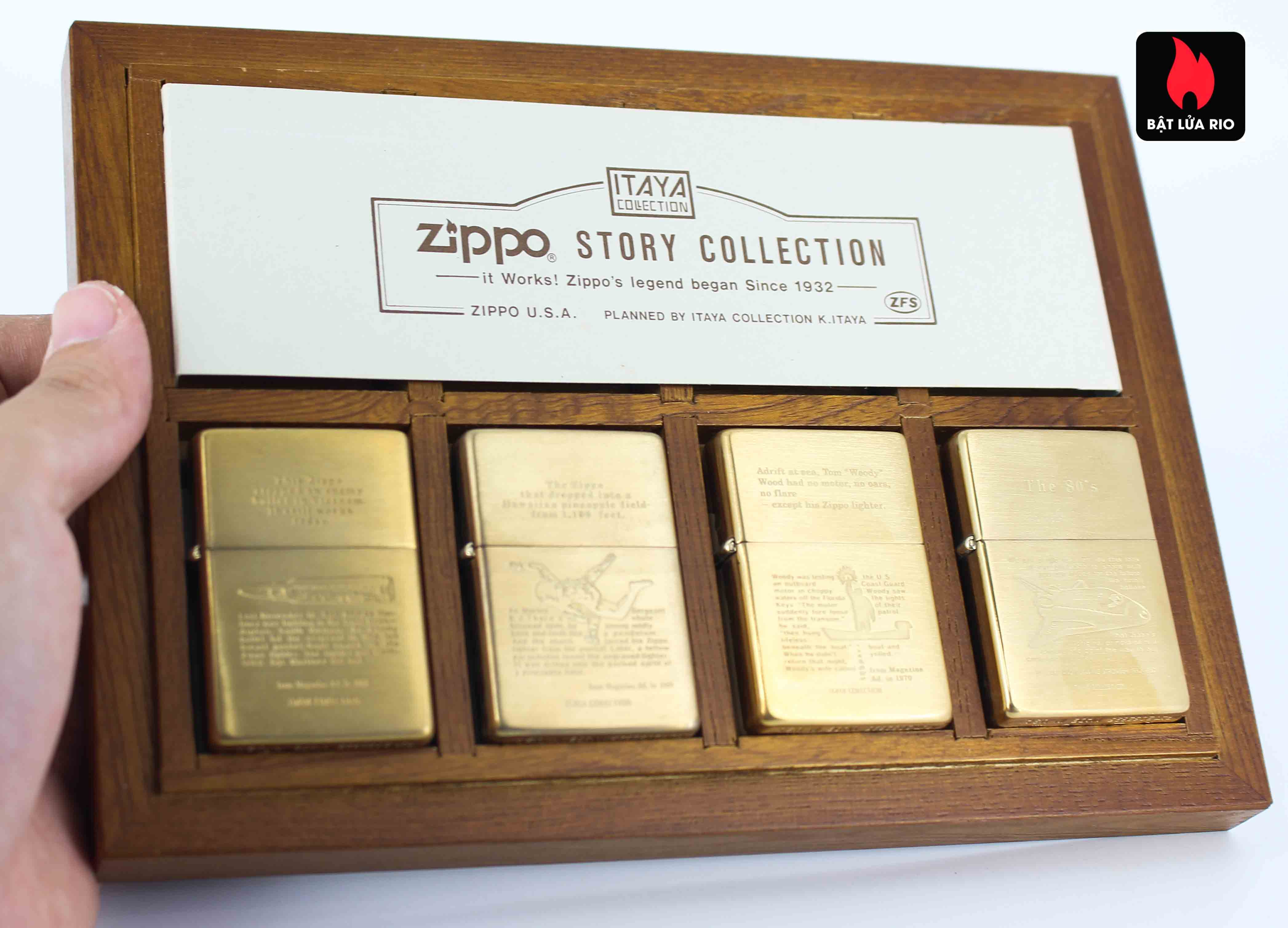 Zippo Serries 1993 - Itaya Colection - Zippo Story Collection 13