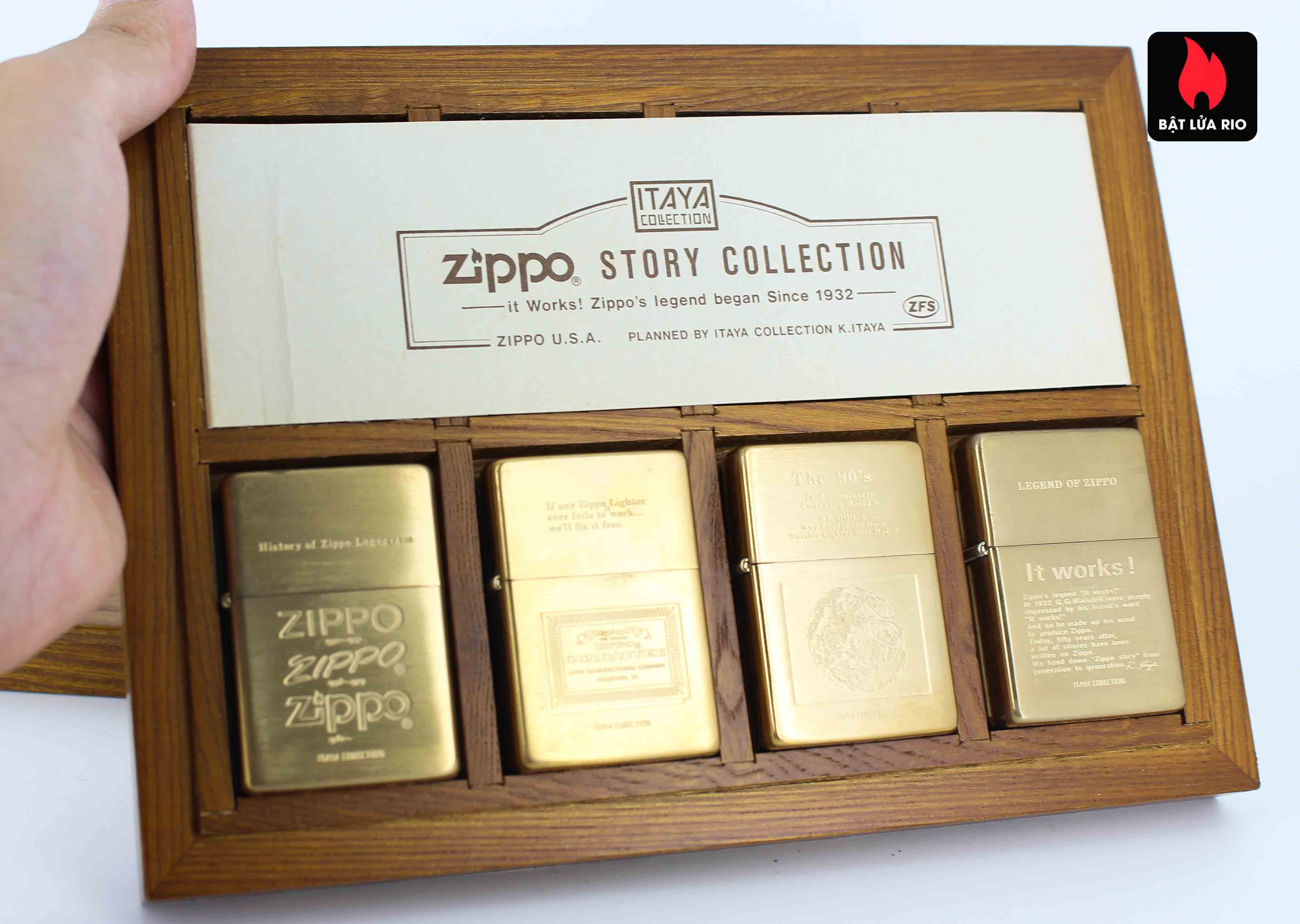 Zippo Serries 1993 - Itaya Colection - Zippo Story Collection 5