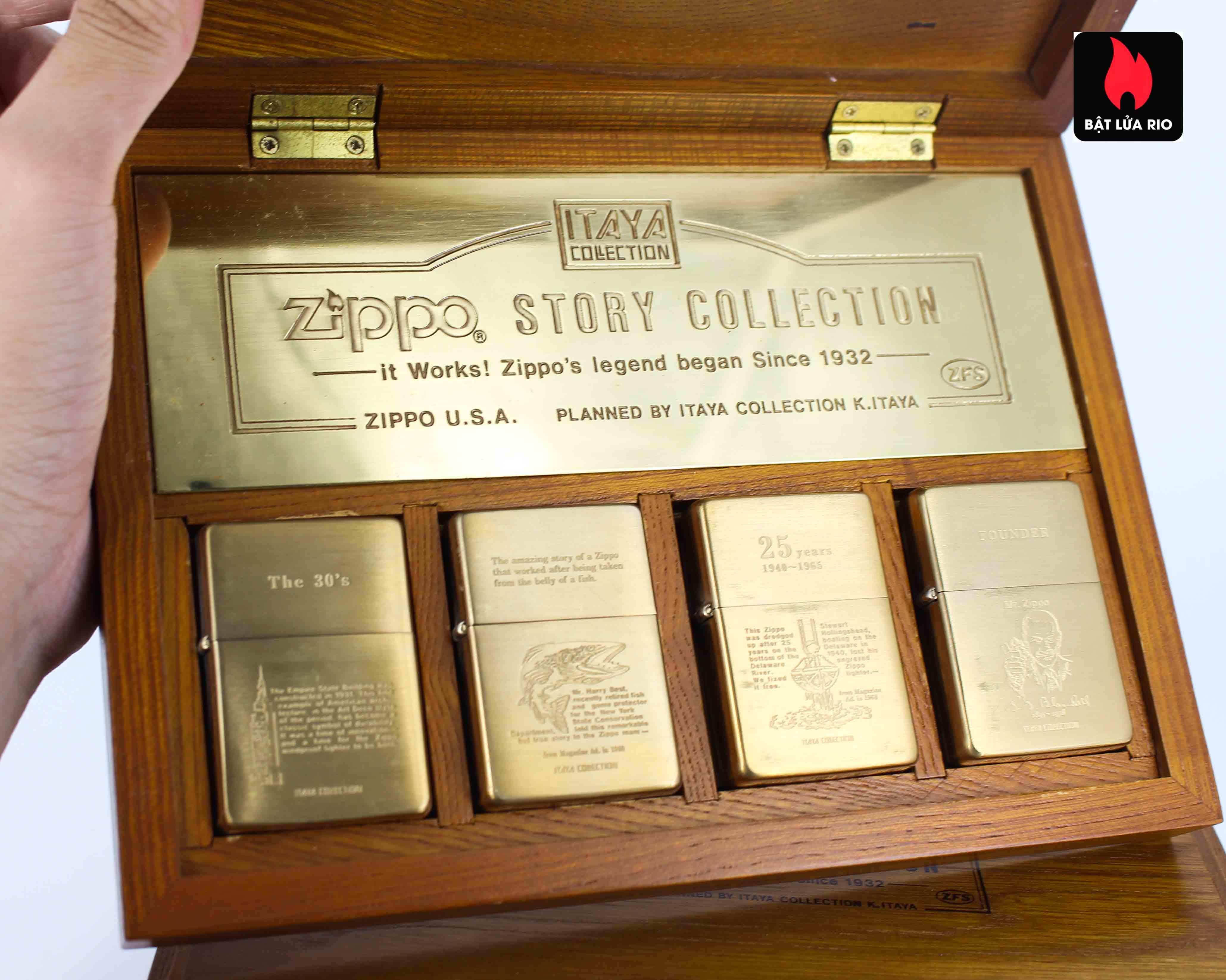 Zippo Serries 1993 - Itaya Colection - Zippo Story Collection 7