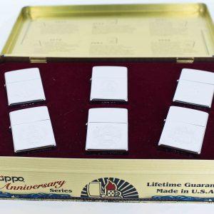 Zippo Set 1992 - 60th Anniversary Complete Set - 1992 Collectors Edition 1