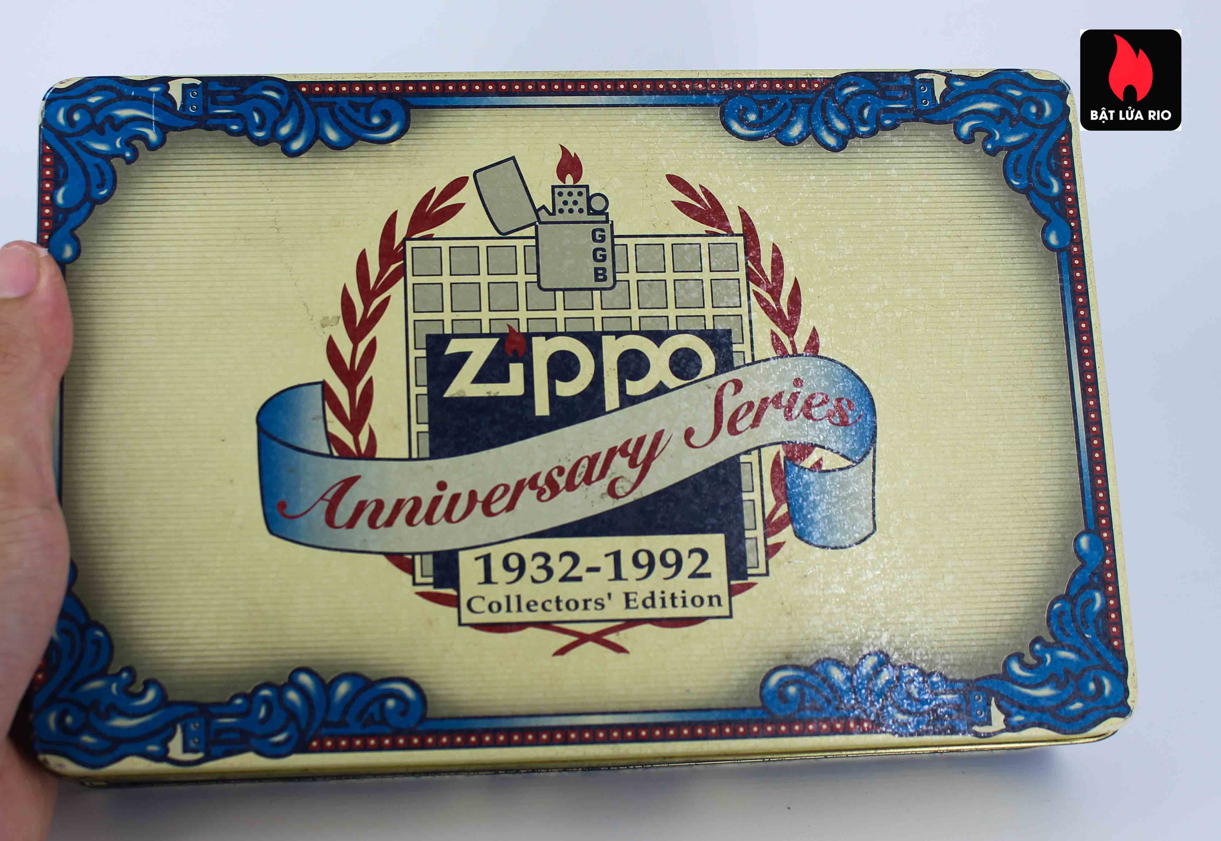 Zippo Set 1992 - 60th Anniversary Complete Set - 1992 Collectors Edition 5