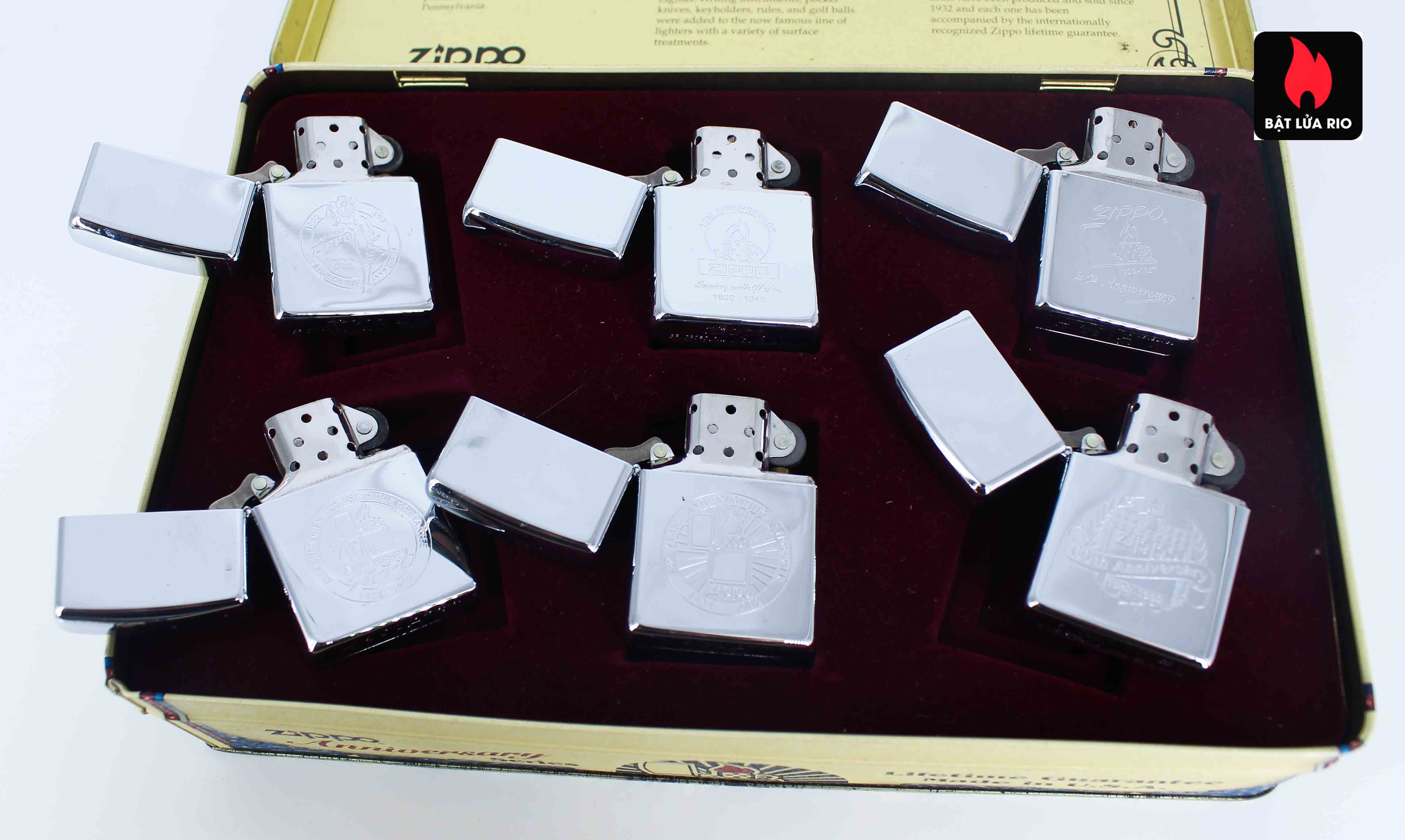 Zippo Set 1992 - 60th Anniversary Complete Set - 1992 Collectors Edition 7