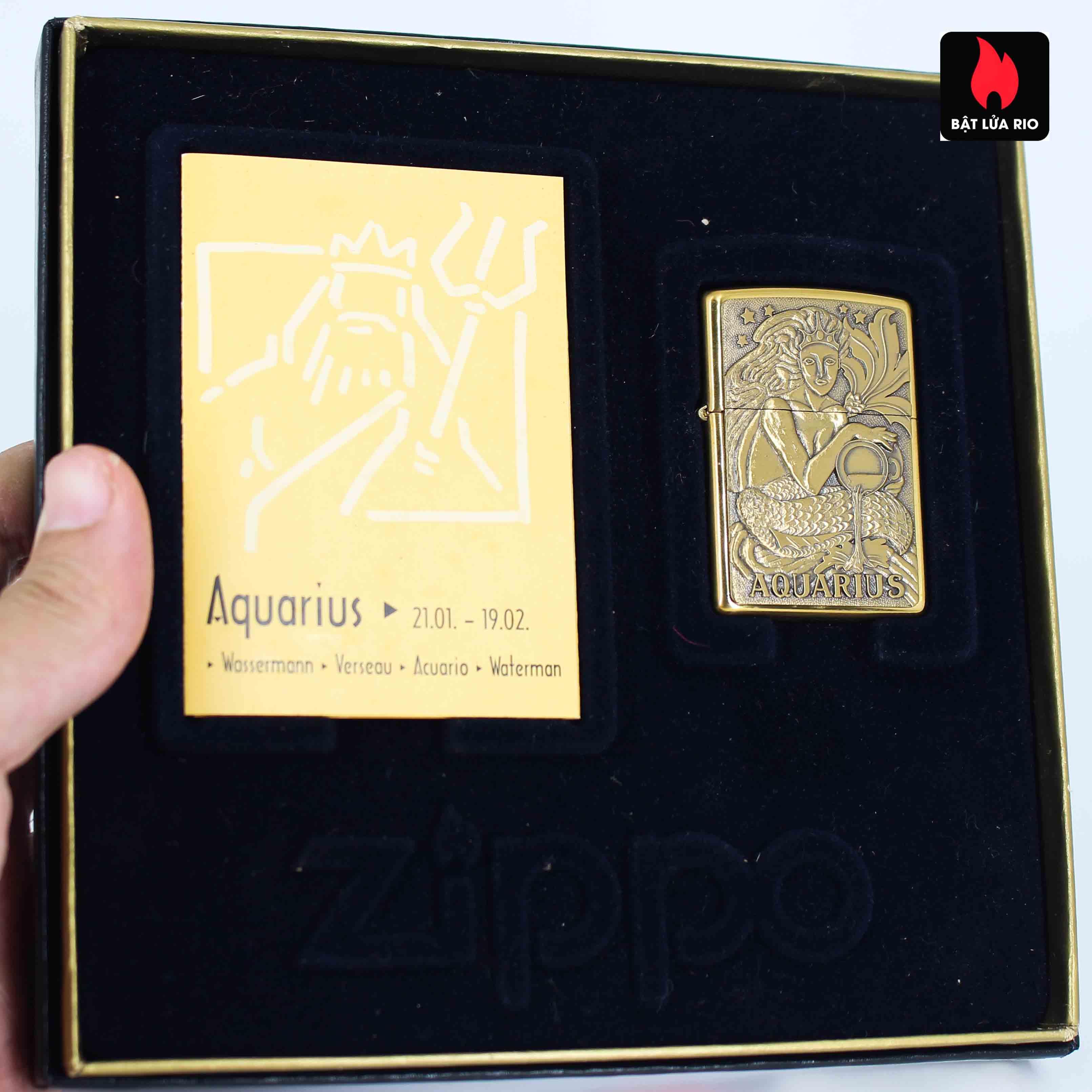Zippo Set 1997 - Zodiac Collection - 12 Cung Hoàng Đạo 15