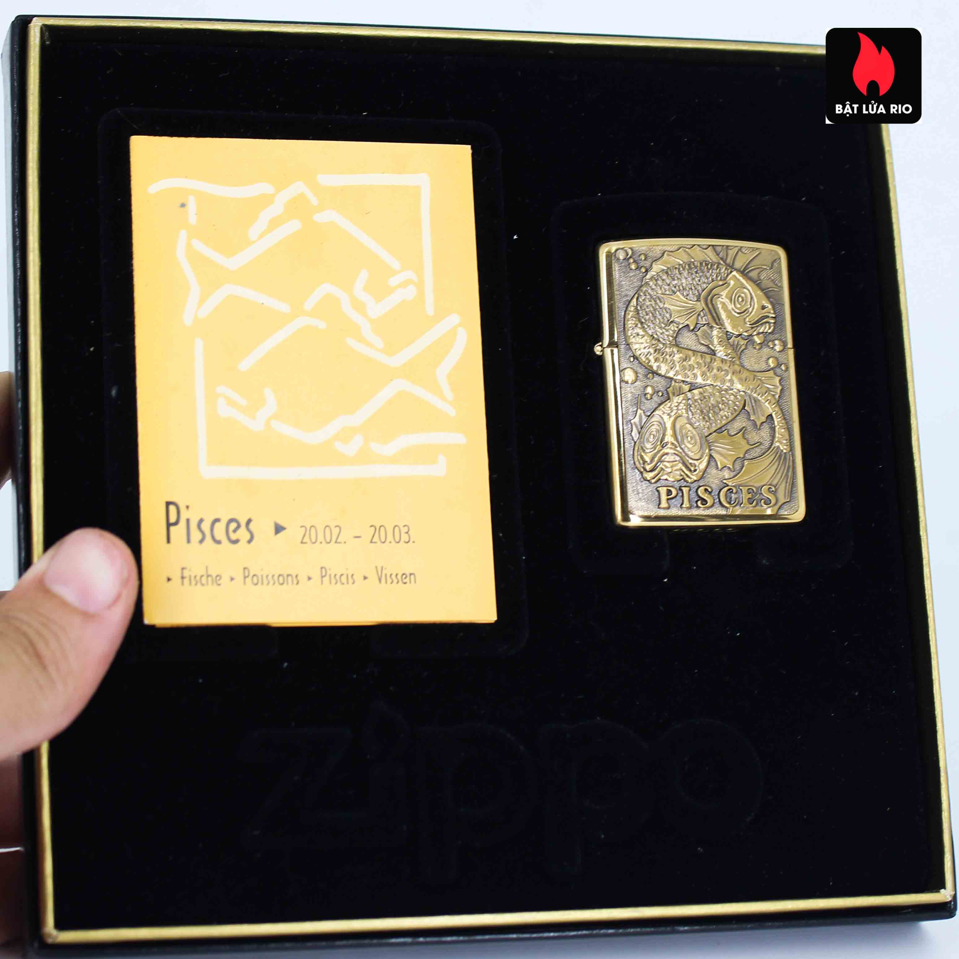 Zippo Set 1997 - Zodiac Collection - 12 Cung Hoàng Đạo 24