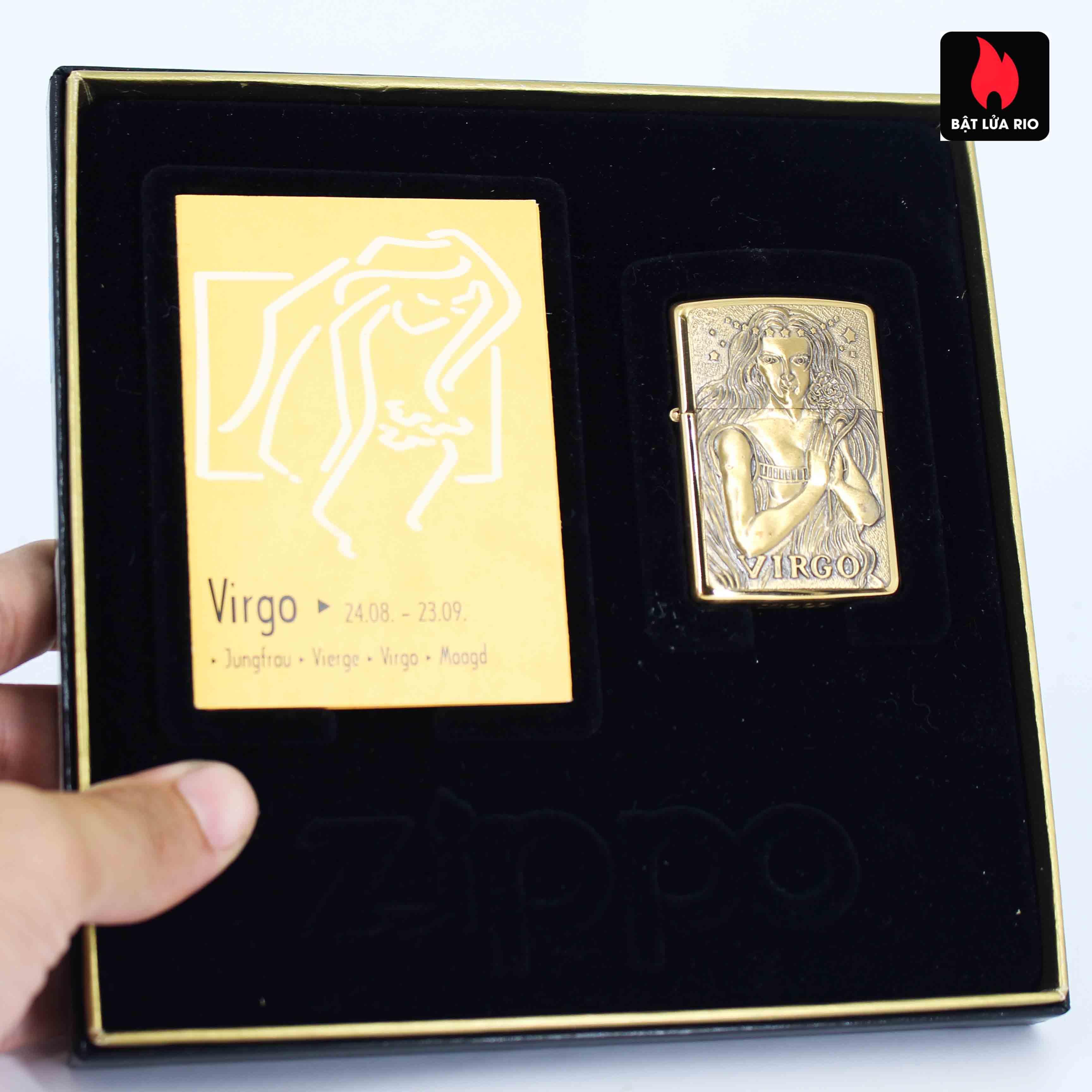 Zippo Set 1997 - Zodiac Collection - 12 Cung Hoàng Đạo 28