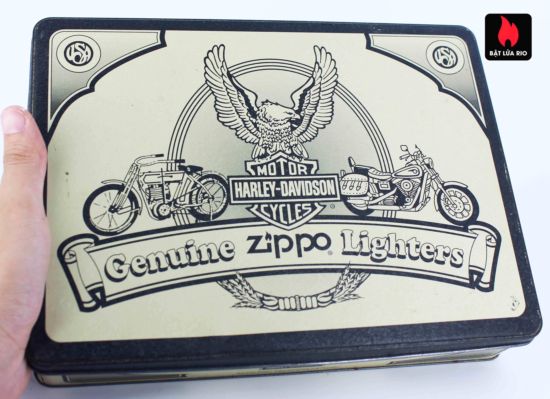 Zippo Set 1998 - Harley Davidson Motor Cycle - Genuine Zippo Lighters 11