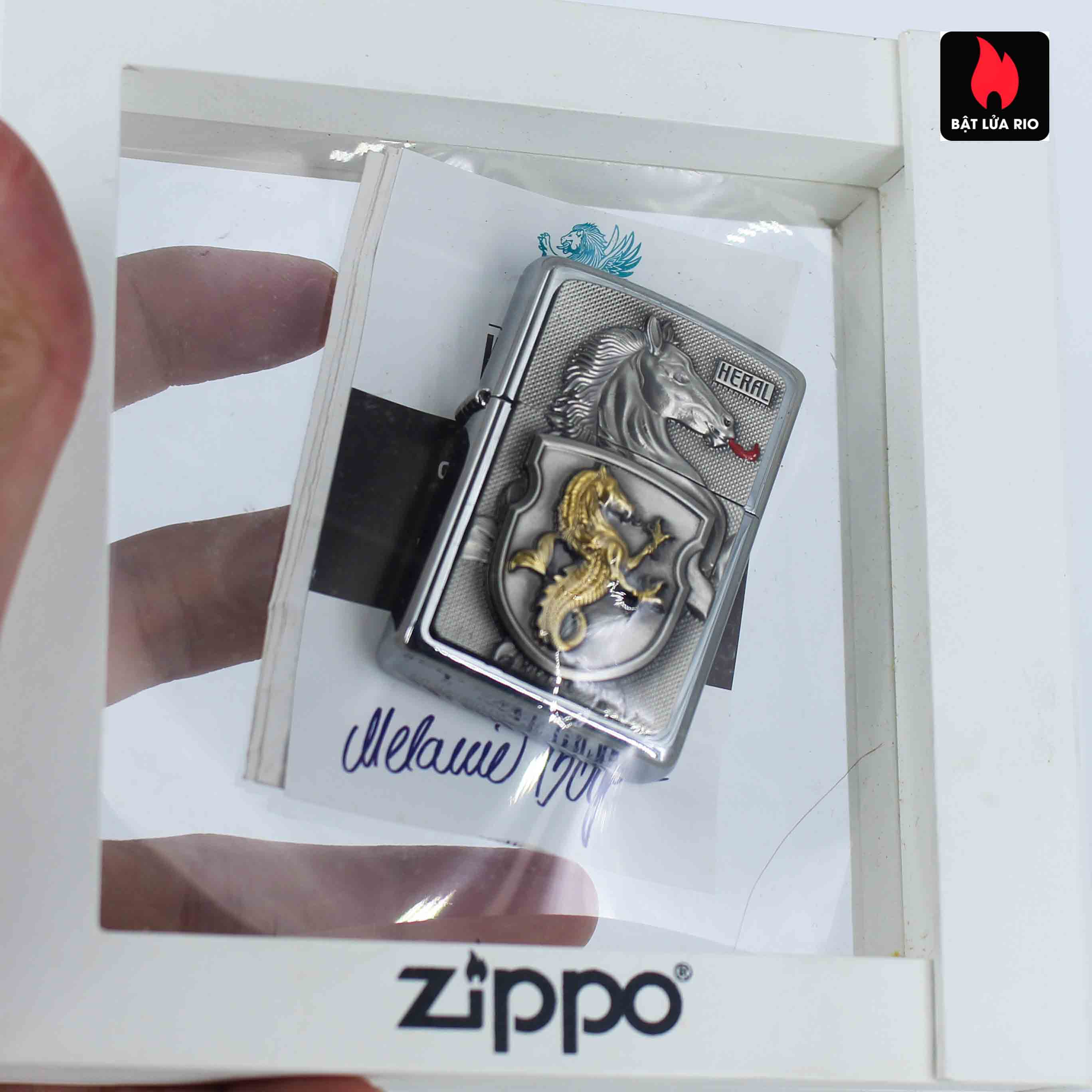 Zippo Set 2014 - Collectible Europe Animal Heral Arco Zippo Lighter Limited Edition 5