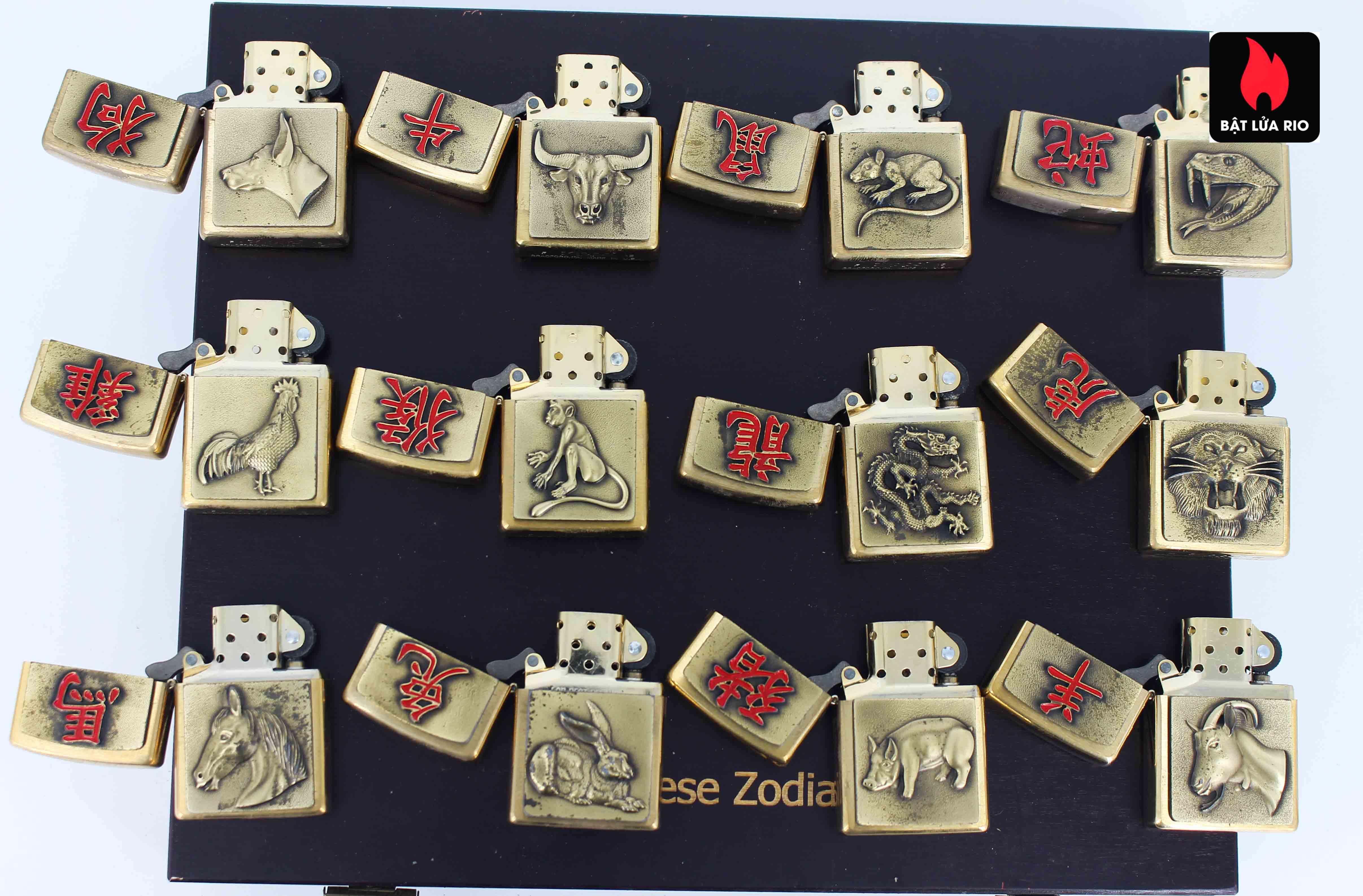 Zippo Set 2015 - Chinese Zodiac - 12 Con Giáp Châu Á 6