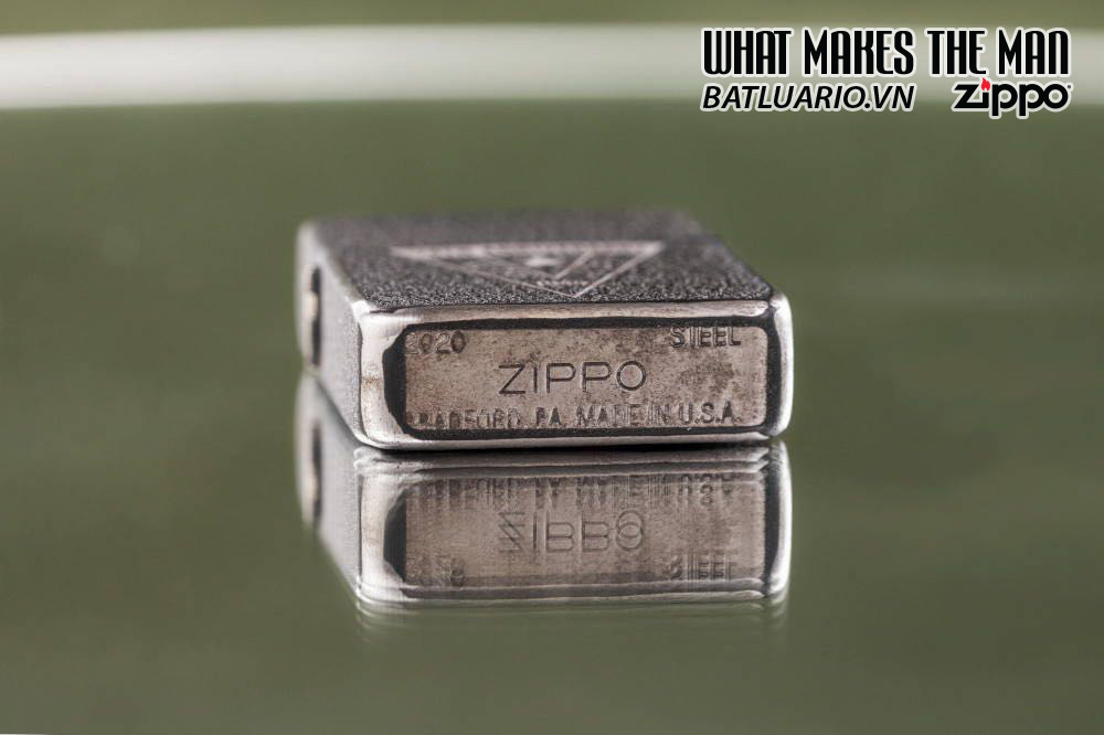 Zippo VE/VJ 75th Anniversary Collectible Steel Case - Zippo Victory in Europe & Japan Collectible Lighter - Zippo 49264 8
