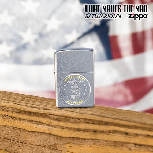 Zippo 49147 - Zippo U.S. Air Force™ Satin Chrome 1