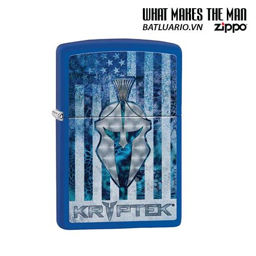 Zippo 49179 - Zippo Kryptek Royal Blue Matte
