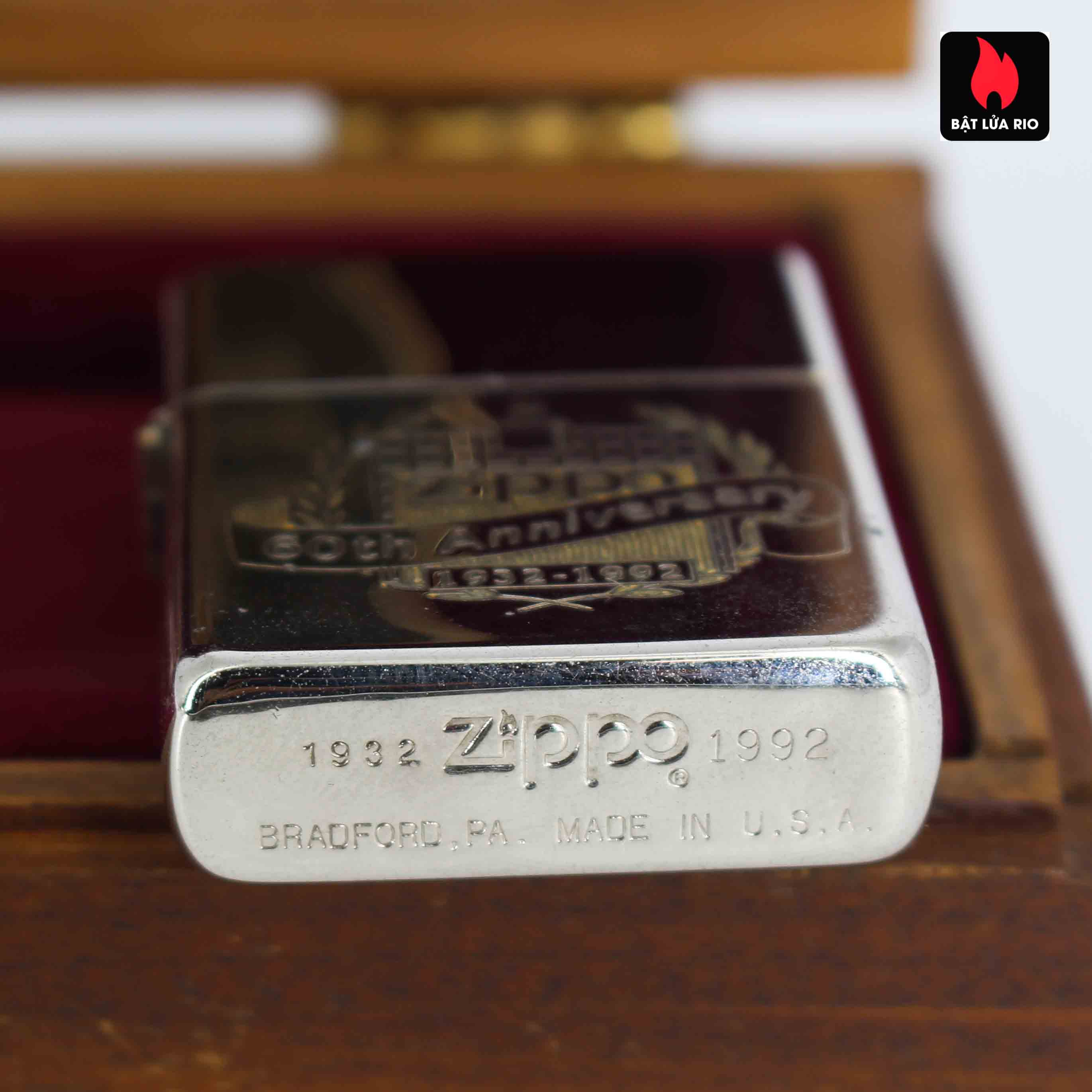Zippo 1932 - 1992 - 60th Anniversary - Kỉ Niệm 60 Năm Thành Lập Hãng Zippo 4