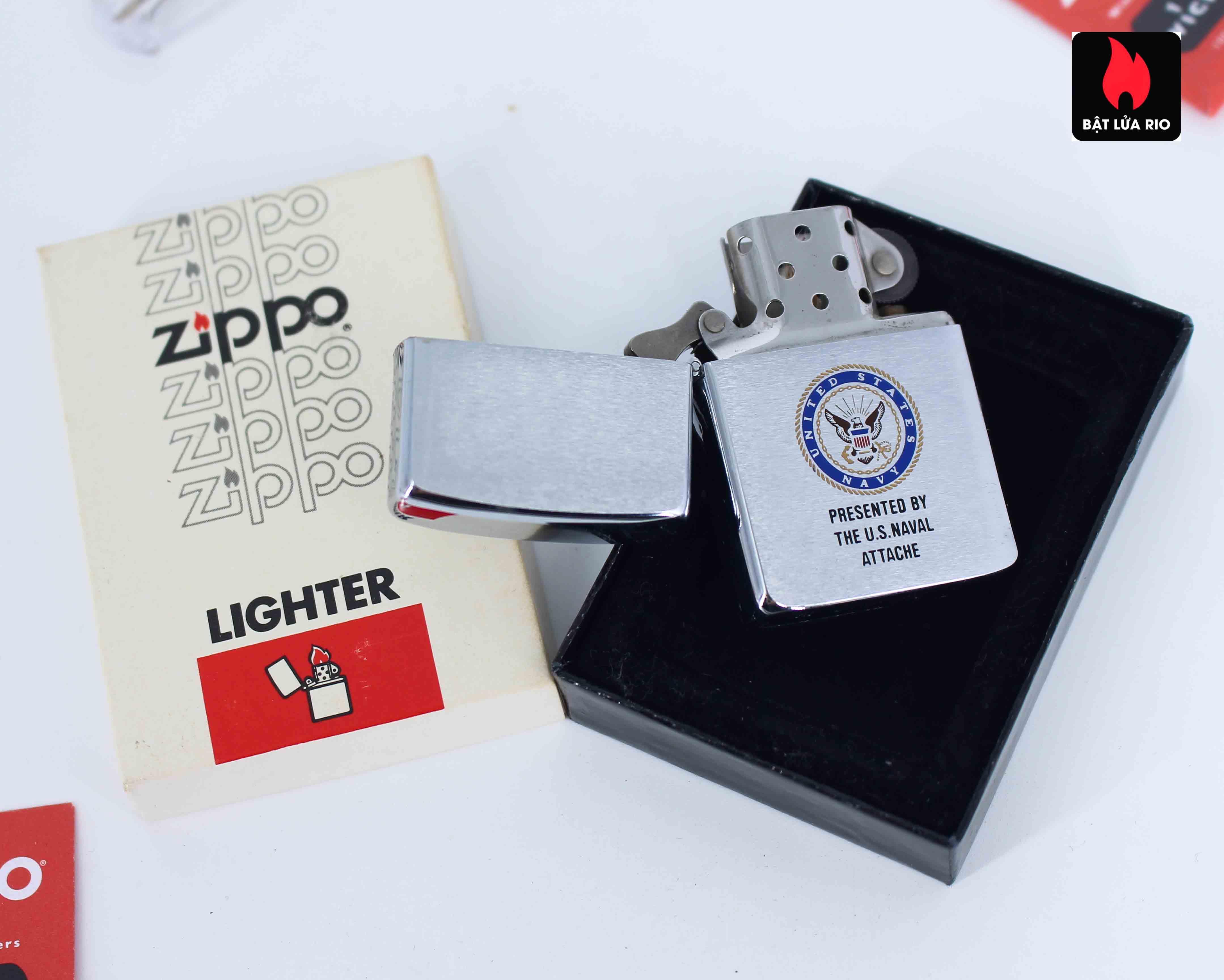 Zippo 1987 - U.S Naval Attache 3