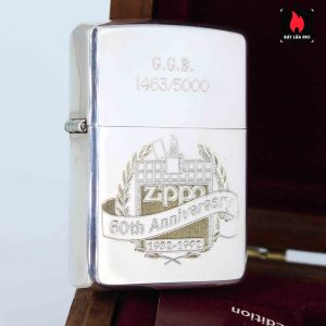 Zippo 1992 - Sterling Silver - 60th Anniversary - GGB 1463/5000