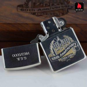 Zippo 1992 - Sterling Silver - 60th Anniversary - GGB 1463/5000 9