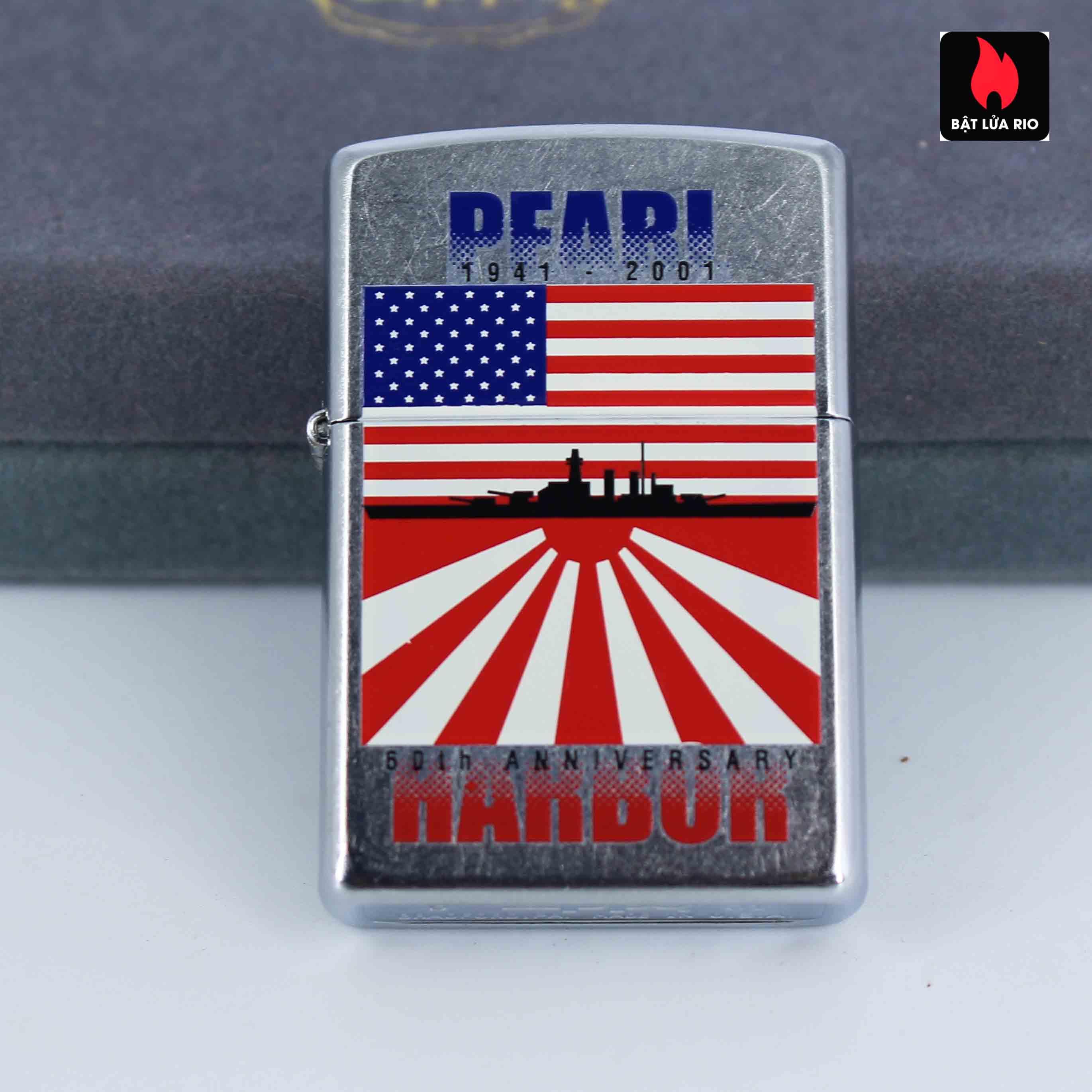 Zippo 2001 - 60th Anniversary Pearl Harbor - Trận Trân Châu Cảng 7