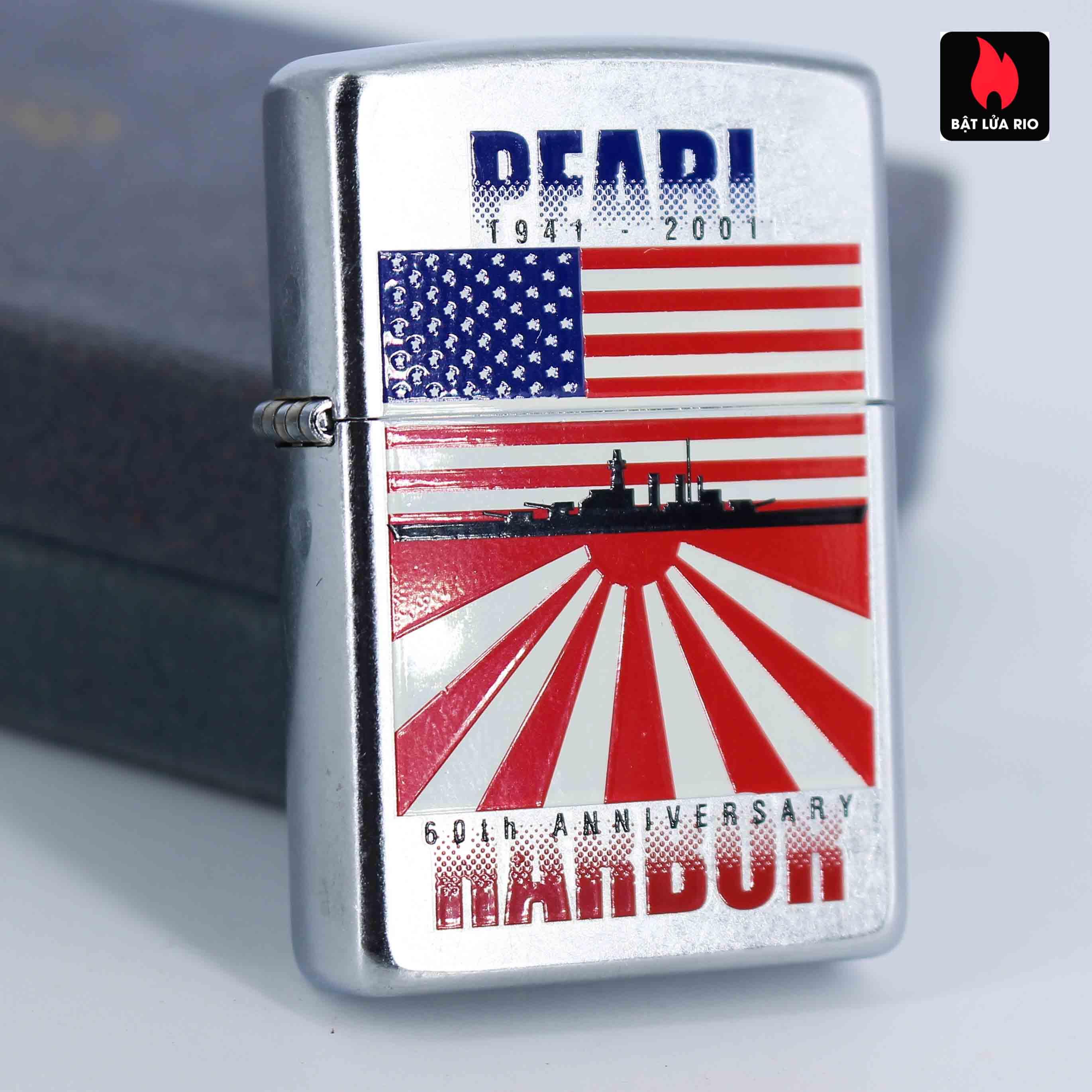 Zippo 2001 - 60th Anniversary Pearl Harbor - Trận Trân Châu Cảng