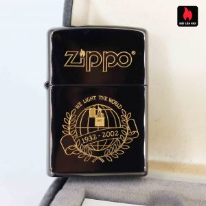 Zippo 2001 - 70th Anniversary - We Light The World - Limited 048/500