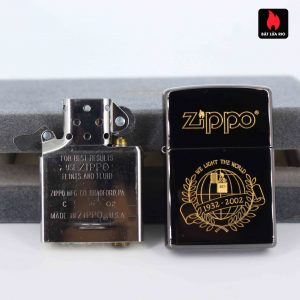 Zippo 2001 - 70th Anniversary - We Light The World - Limited 048/500 7
