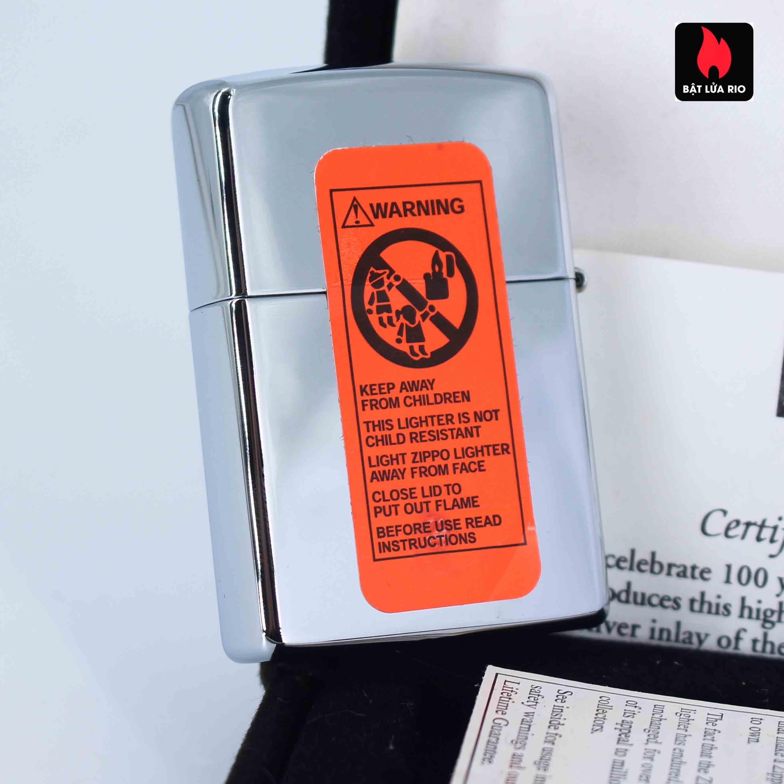 Zippo 2002 - 100 Years Ford Motor Company - Limited /10.000 2